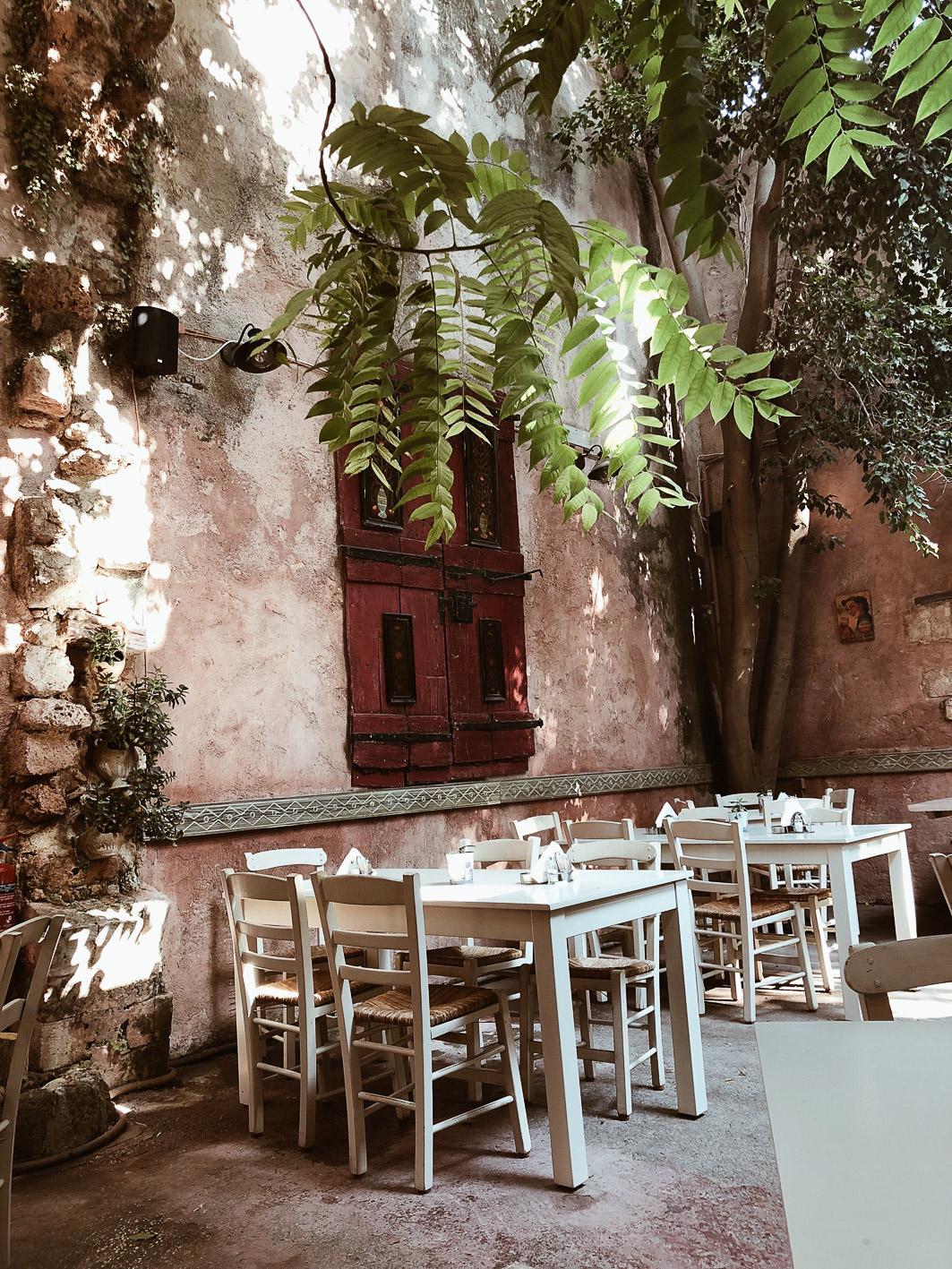 Carnet Sauvage - Blog voyage, visiter la Crète, restaurant Chania