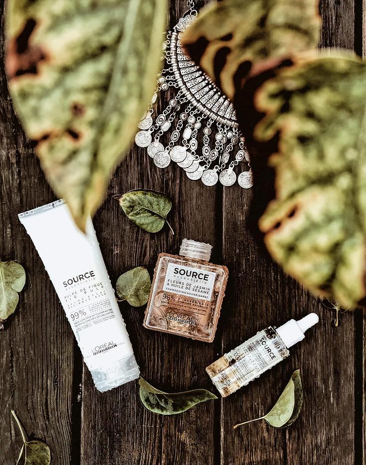 Carnet Sauvage - Blog beauté, gamme de shampoing naturelle Source Essentielle L'Oréal