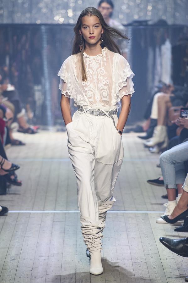 Carnet Sauvage - Blog mode et tendances, défilé Printemps/Eté 2019 d'Isabel Marant