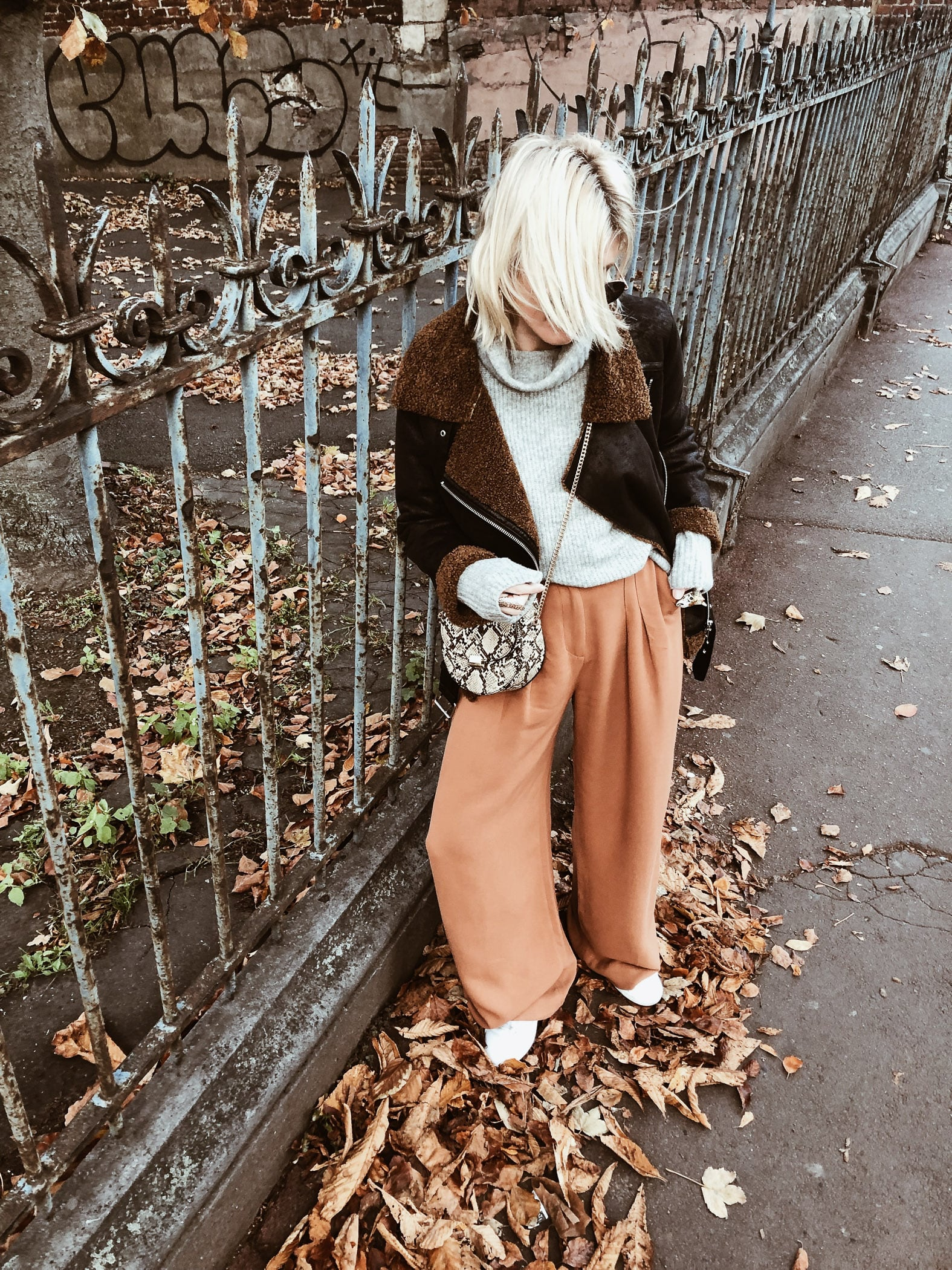 Carnet Sauvage - Blog mode boho, idée look hiver & other stories, mango et zara