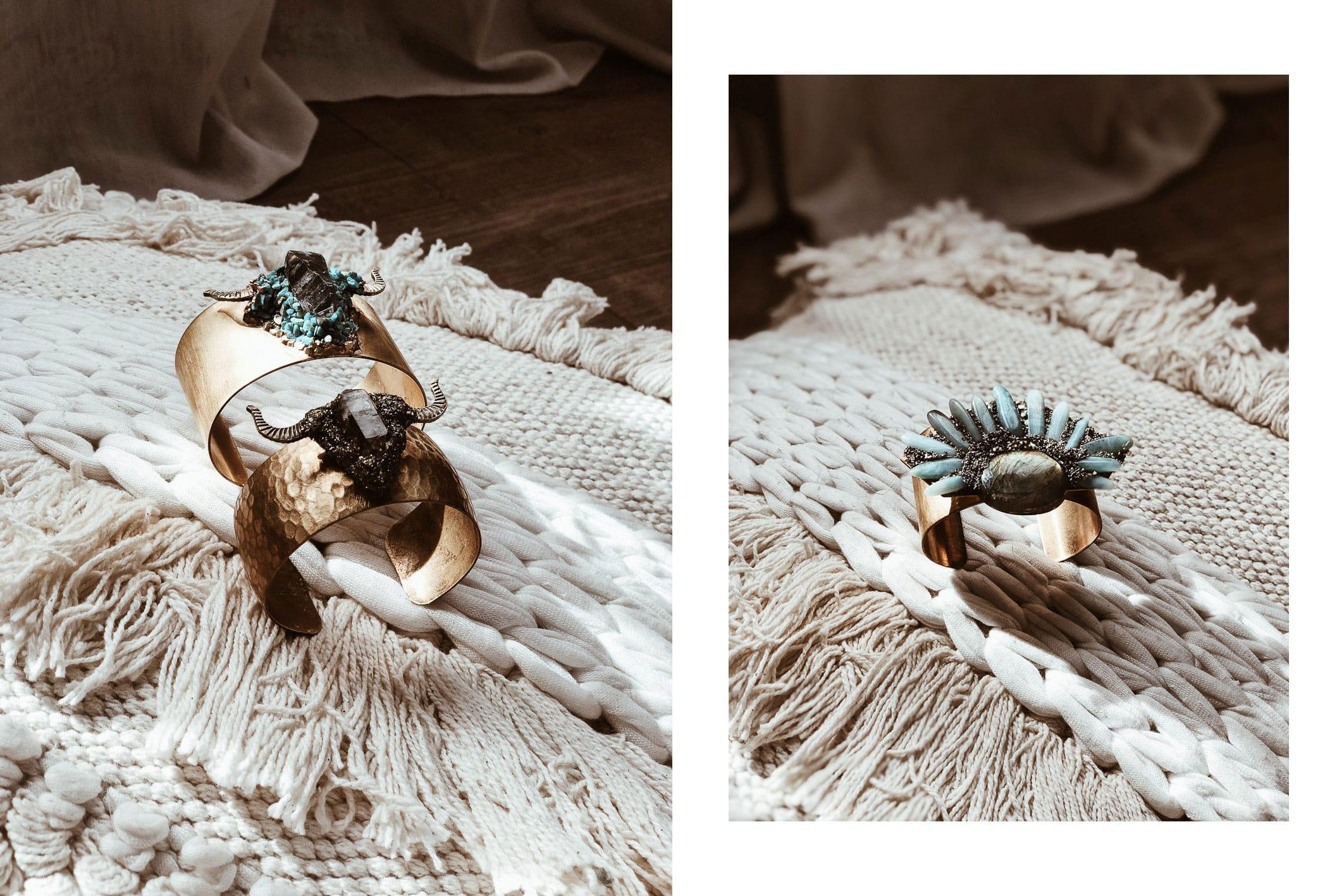 Je vous propose aujourd'hui de découvrir les dernières nouveautés de la marque Christina Rose Jewelry, des bijoux toujours aussi originaux : des pièces imposantes, des pierres semi-précieuses, des influences bohèmes... Bref il ne m'en fallait pas plus pour tomber amoureuse !      Belle semaine !  Vanessa