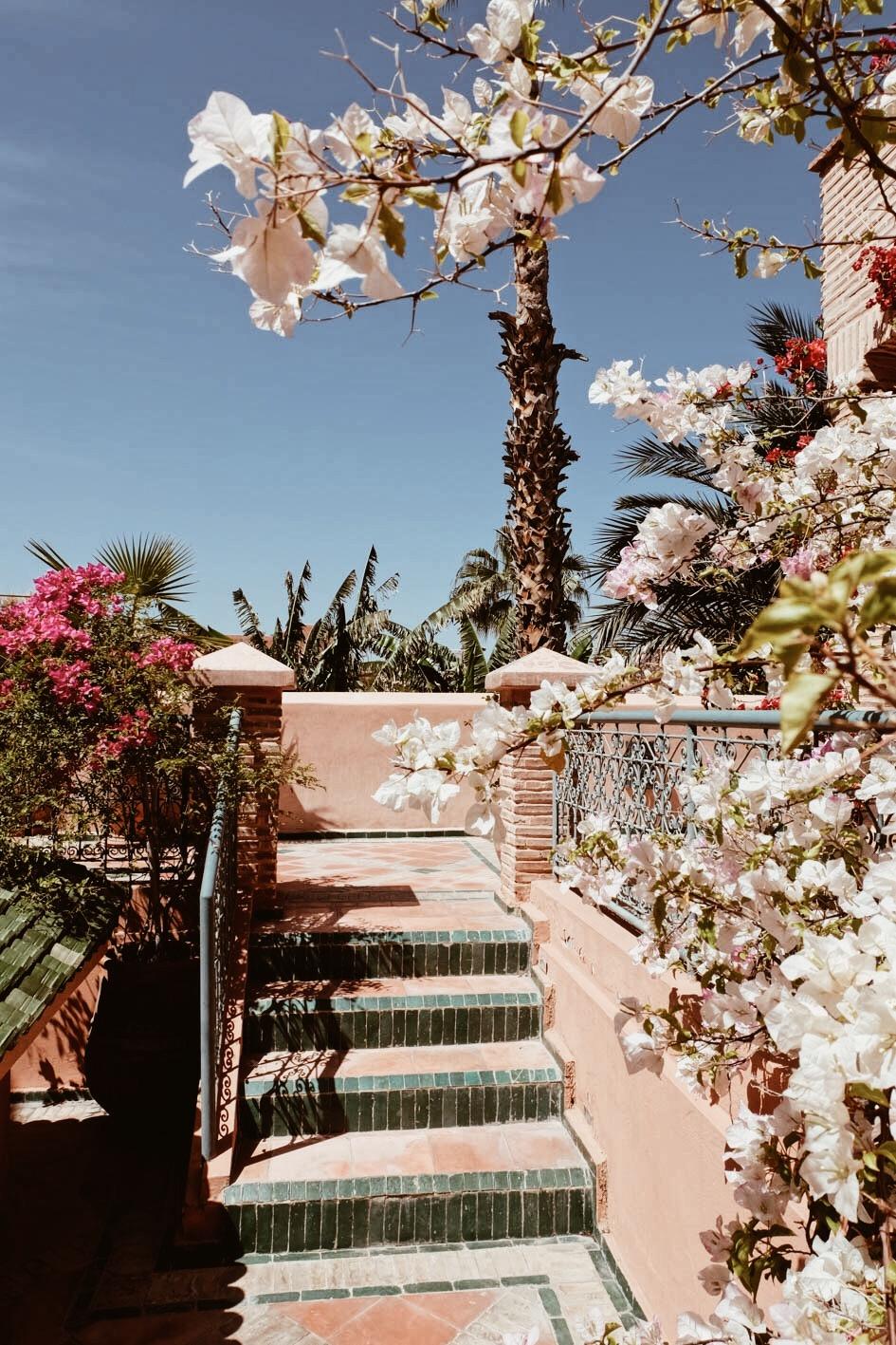 Carnet Sauvage - Blog voyage Marrakech, se loger Palais Lamrani