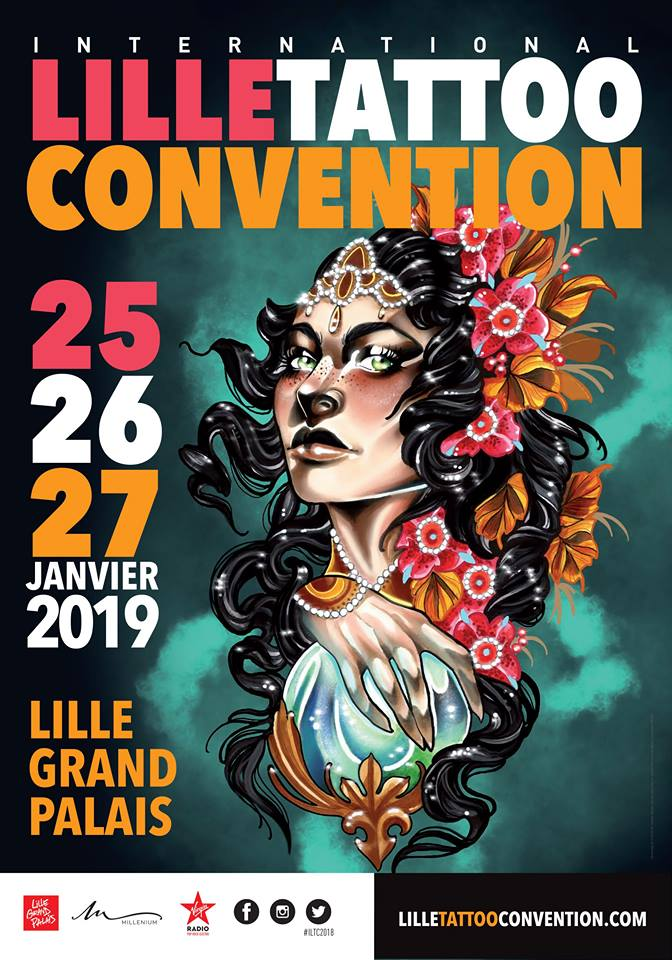 Carnet Sauvage - Blog mode, voyages et lifestyle - Mon expérience au Lille Tattoo Convention