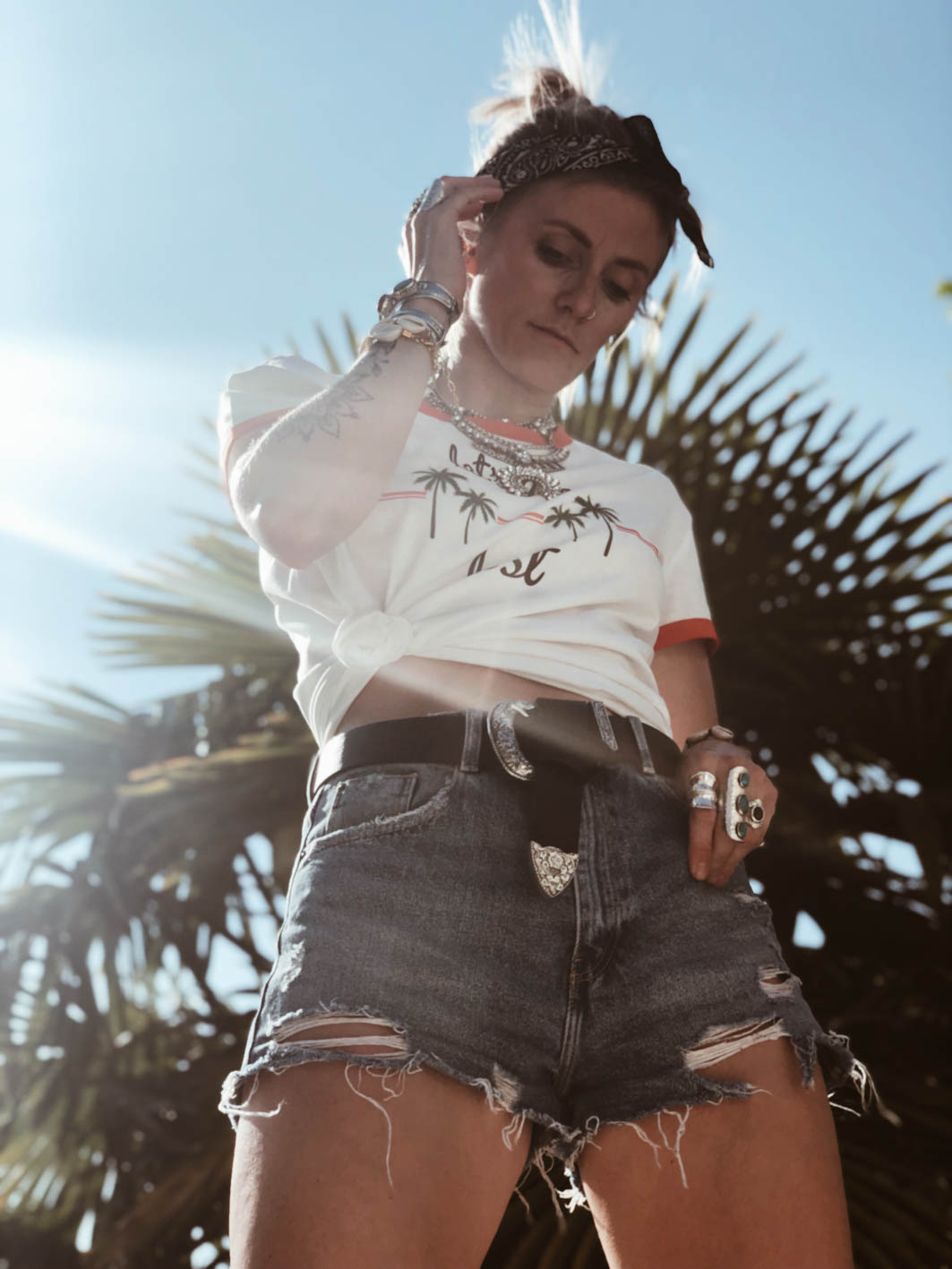 Carnet Sauvage - idée look festival, t-shirt Vero Moda