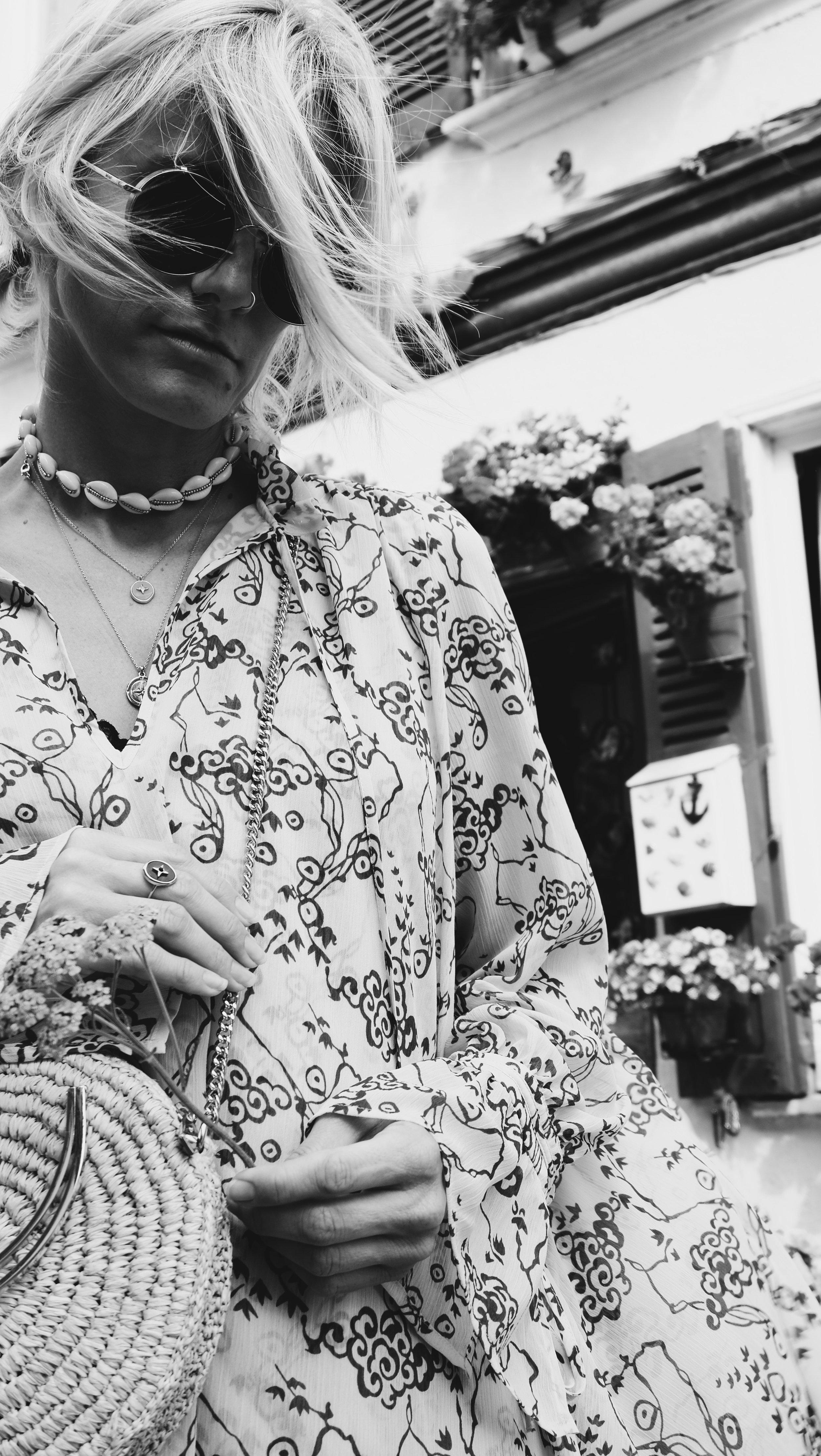 Carnet Sauvage - blog mode et tendances, direction artistique Lille, idée look bohème - robe & other stories