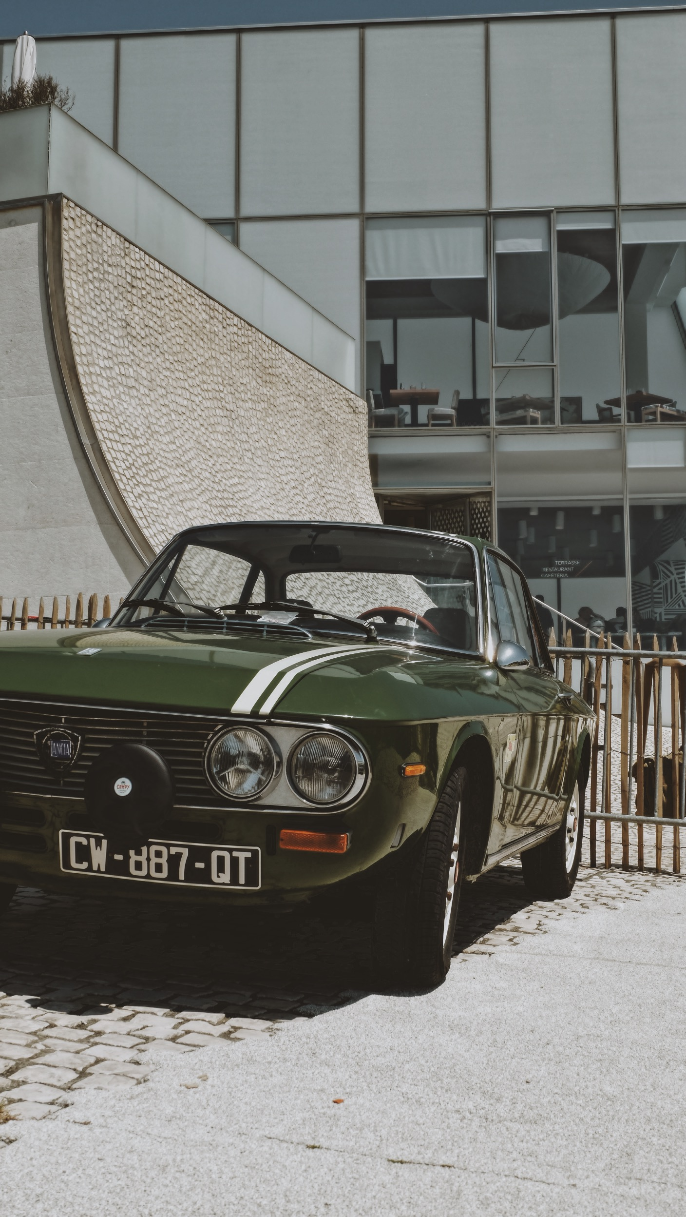 Vintage car - Lancia Fulvia