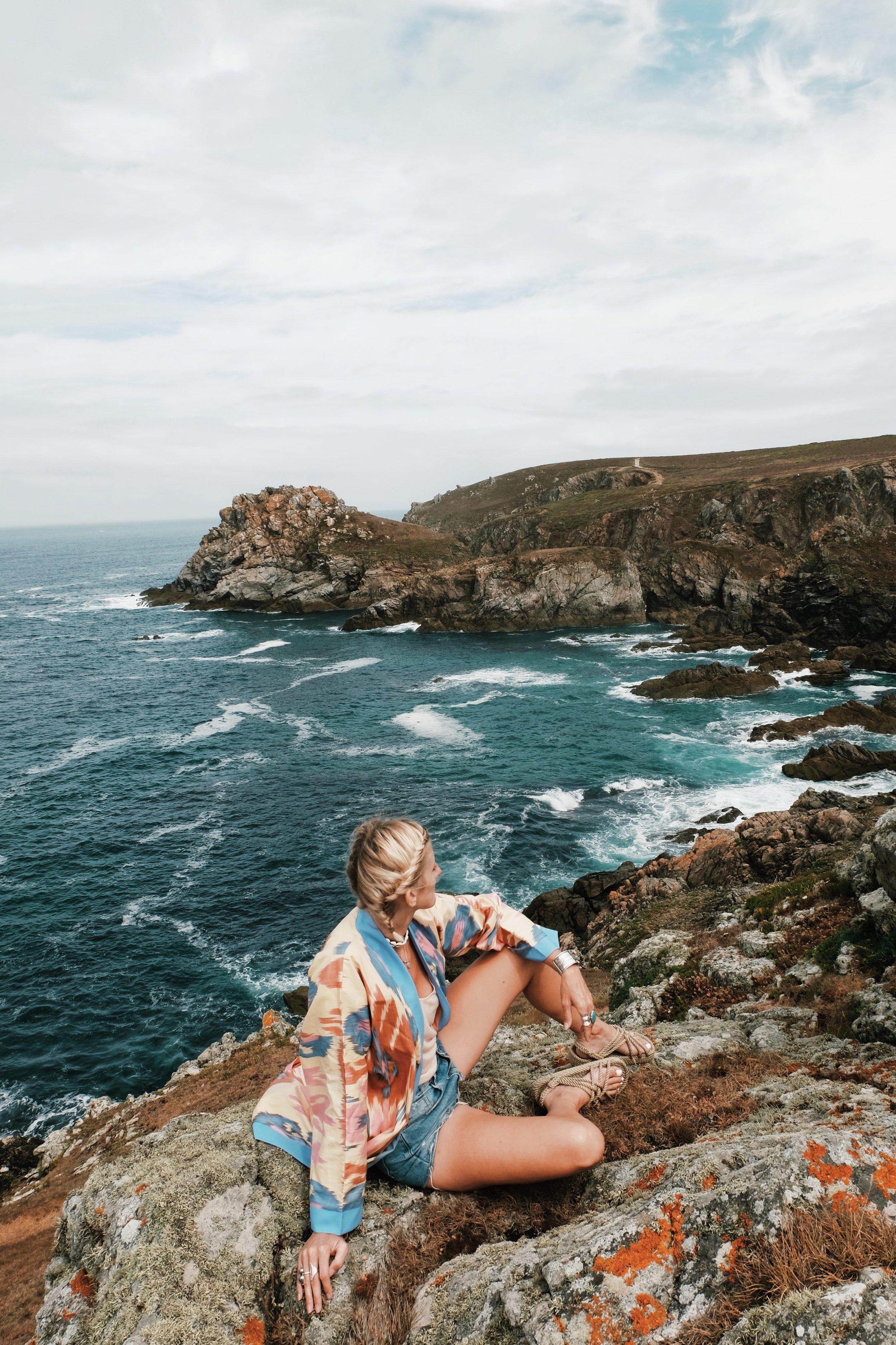 Carnet Sauvage - blog mode et voyage - Bretagne kimono look4.JPG