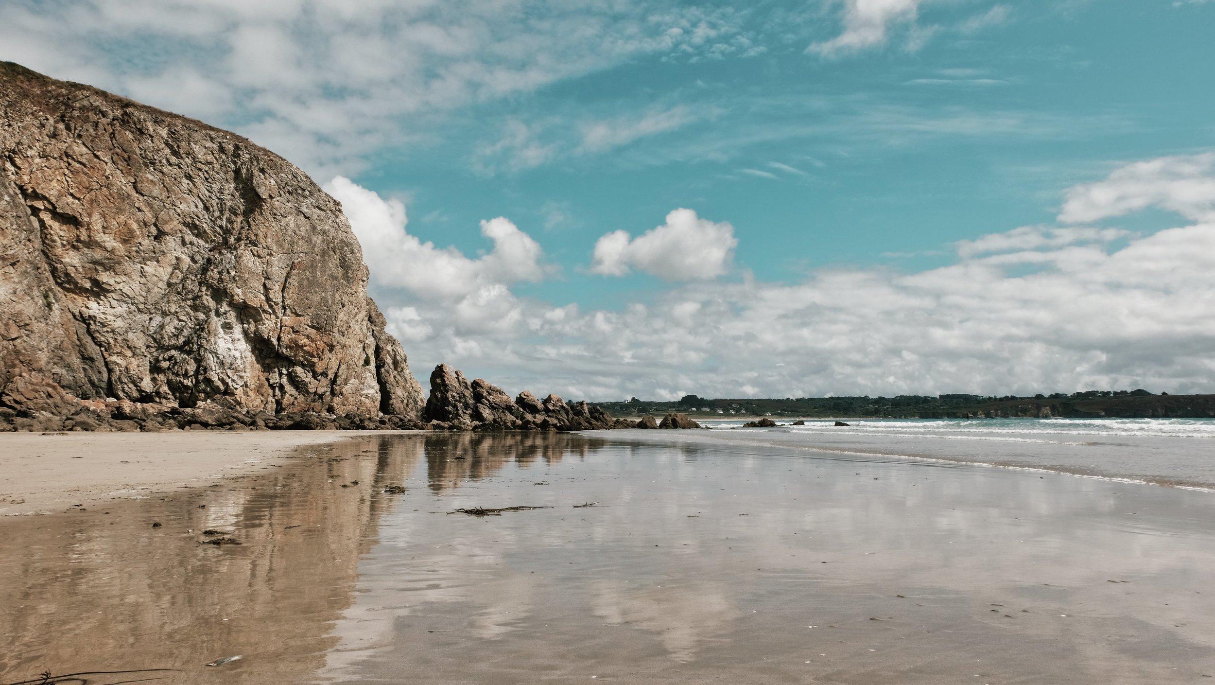 Carnet Sauvage - blog voyage Lille - visiter la Bretagne - presqu'ile de Crozon - plage de kerloch3.JPG