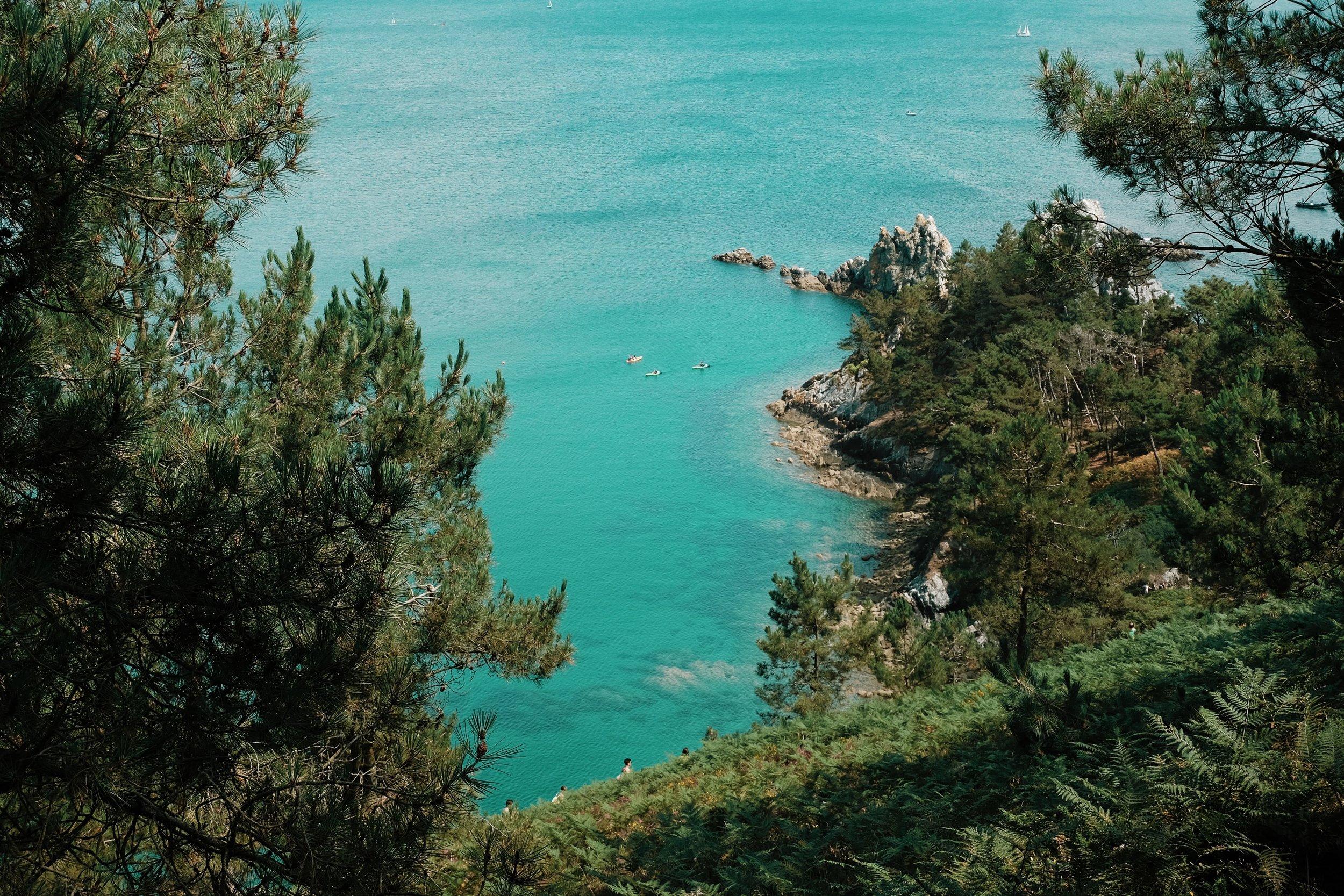 Carnet Sauvage - blog voyage Lille - visiter la Bretagne - presqu'ile de Crozon - plage de l'ile vierge5.JPG
