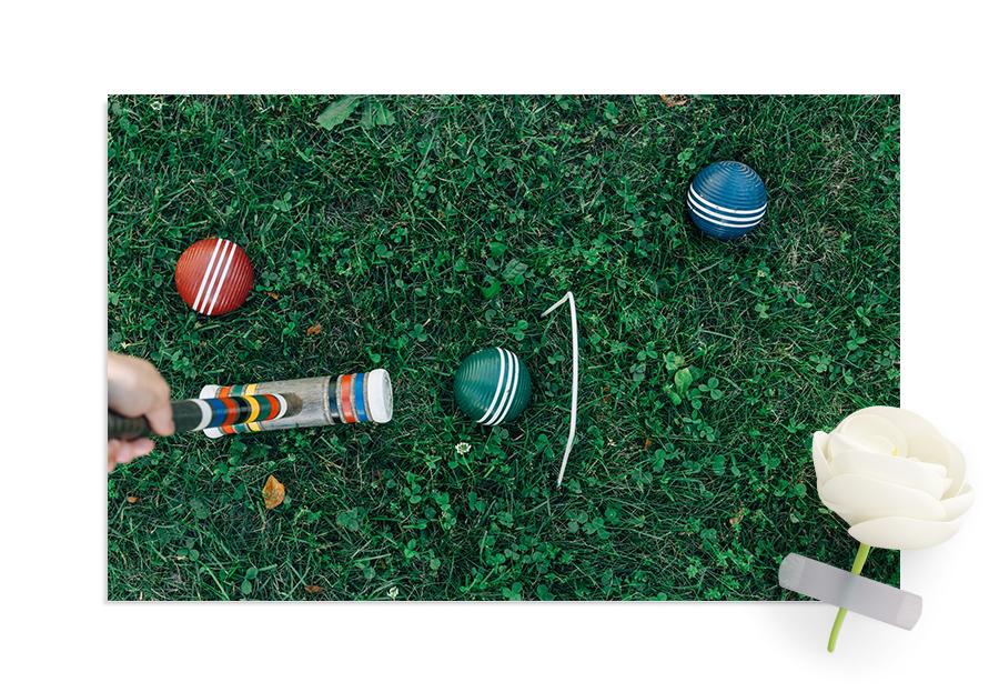 Hagespill - Med et variert utvalg av hagespill, kan du spille mot dine venner – enten de er gode eller dårlige tapere.