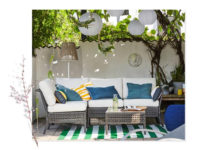 Konkurranse - IKEA Ringsaker skal ha en konkurranse der vinneren kan ta med seg hjem en sittegruppe fra serien KUNGSHOLMEN!IKEA Ringsaker bidrar også med diverse møbler og belysning for å gjøre hagefesten desto mer avslappende og stemningsfull.