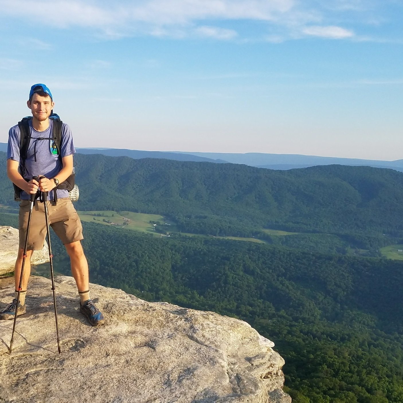 Keep Matthew Hiking - Matthew's journey begins at the border of Mexico and finishes at the Canadian border. Help support Matthew on his grand adventure.