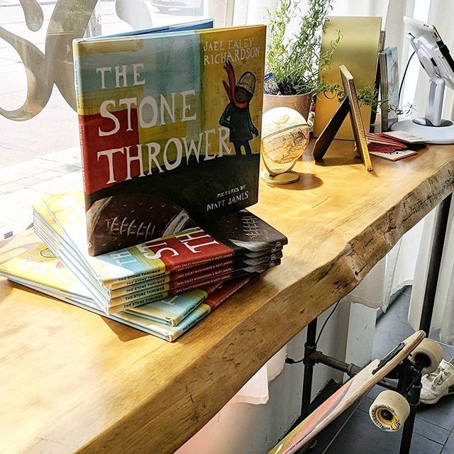The stone thrower, inspiration for our #changemakersrulebreakers @sageandsavant