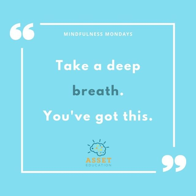 Breathing is one of the most important things we do - yet we often forget just how helpful it can be. Part of ASSET's approach to mindfulness in the classroom is harnessing the power of breath to inspire resilience and confidence in students. Sound interesting? Check out www.asset-edu.org to learn more about how to bring mindfulness to your school.⁠ .⁠ .⁠ .⁠ .⁠ .⁠ .⁠ .⁠ .⁠ .⁠ #mindfulness #breathing #mentalhealth #mindful #teachers #backtoschool #mondaymotivation #inspiration #education