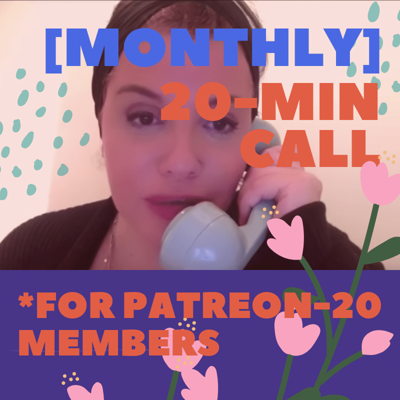Patreon20 October Private Chats - You can book this time for quick personal readings, a chat, or questions you might have. These readings/conversations will be 20 mins long.SUNDAYS: 1:00pm, 1:30pm & 2pm ESTWEDNESDAYS: 4:30pm & 5pm ESTFRIDAYS: 2:30pm & 3pm EST
