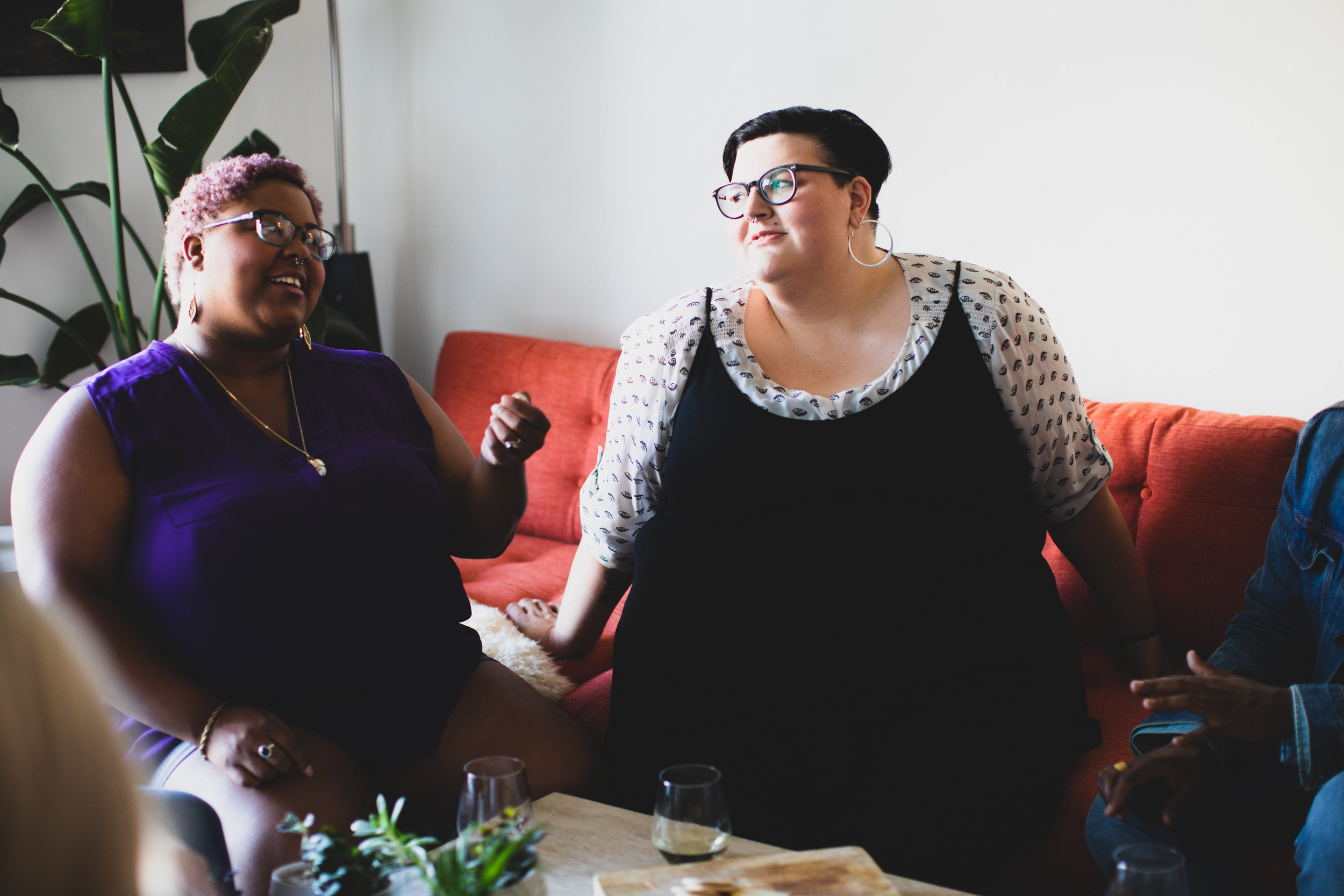 Photo featuring plus-size models by Michael Poley of    Poley Creative    for   AllGo  , publisher of free stock photos featuring plus-size people.