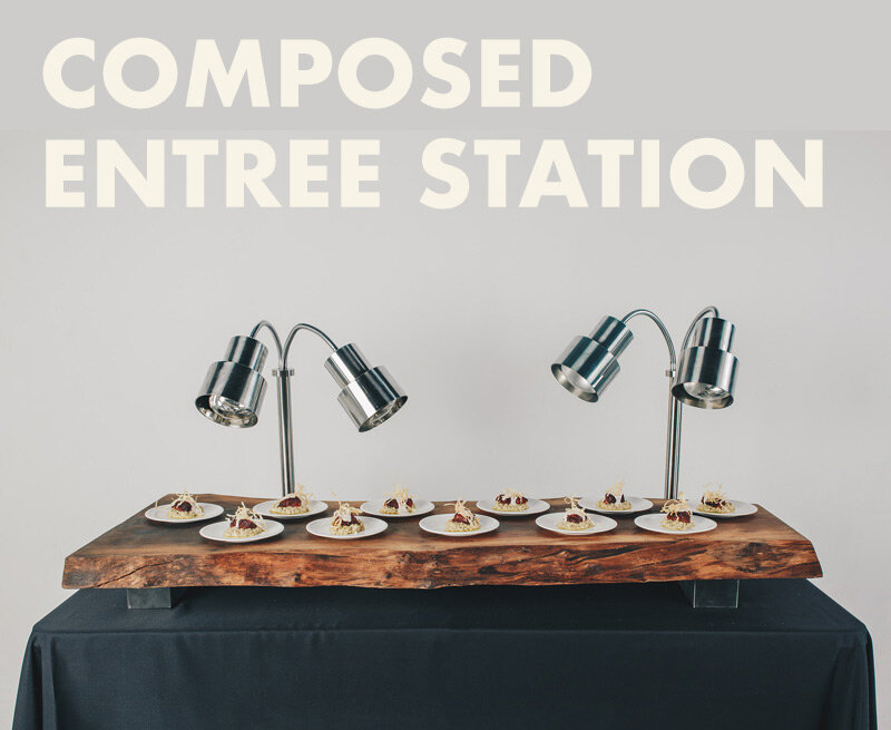 Composed Entree Station