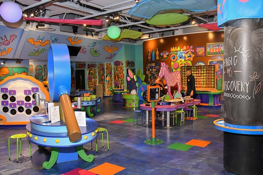 Discovery Children's Museum Event Space in Las Vegas — Cut and Taste