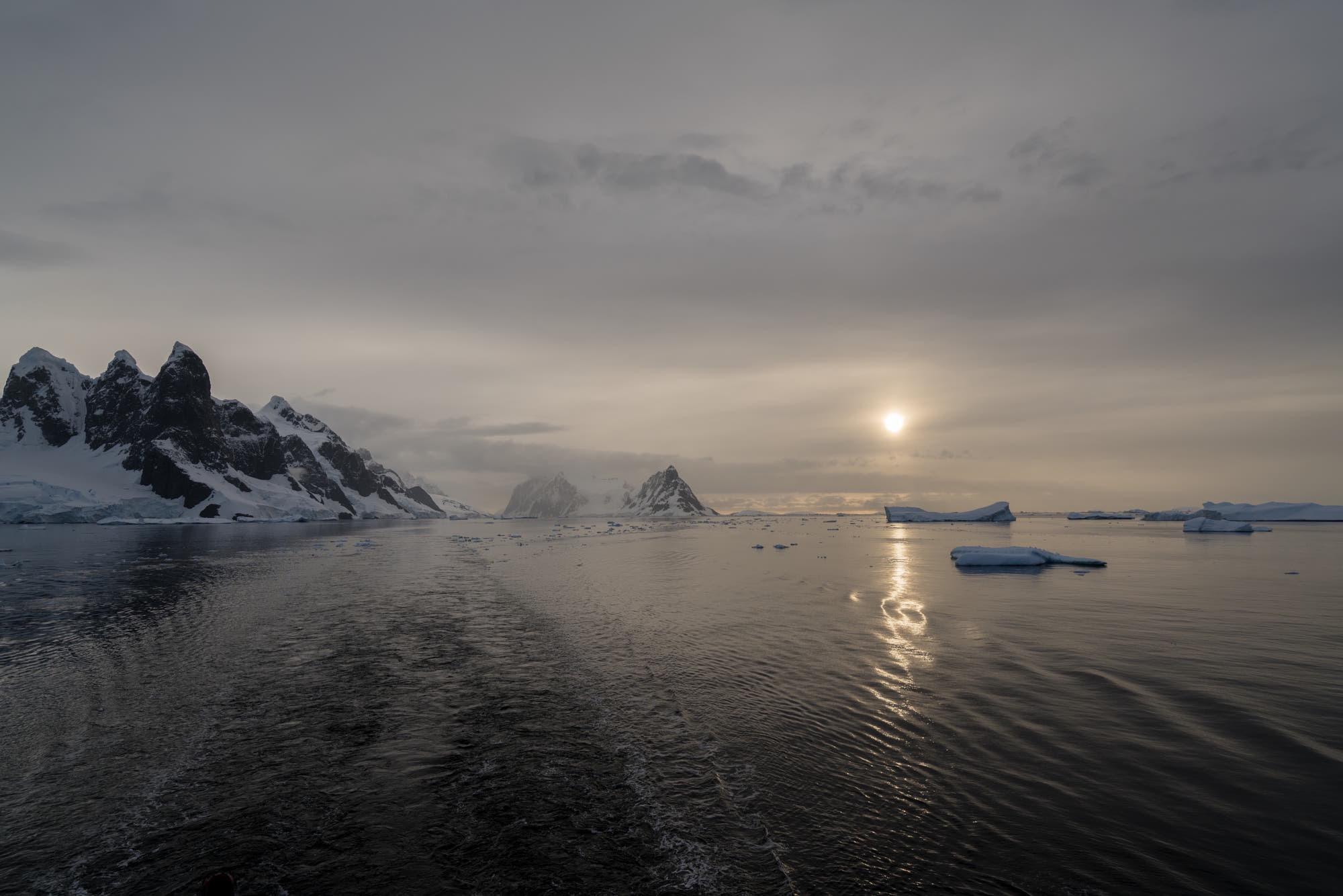 Antarctic Evening