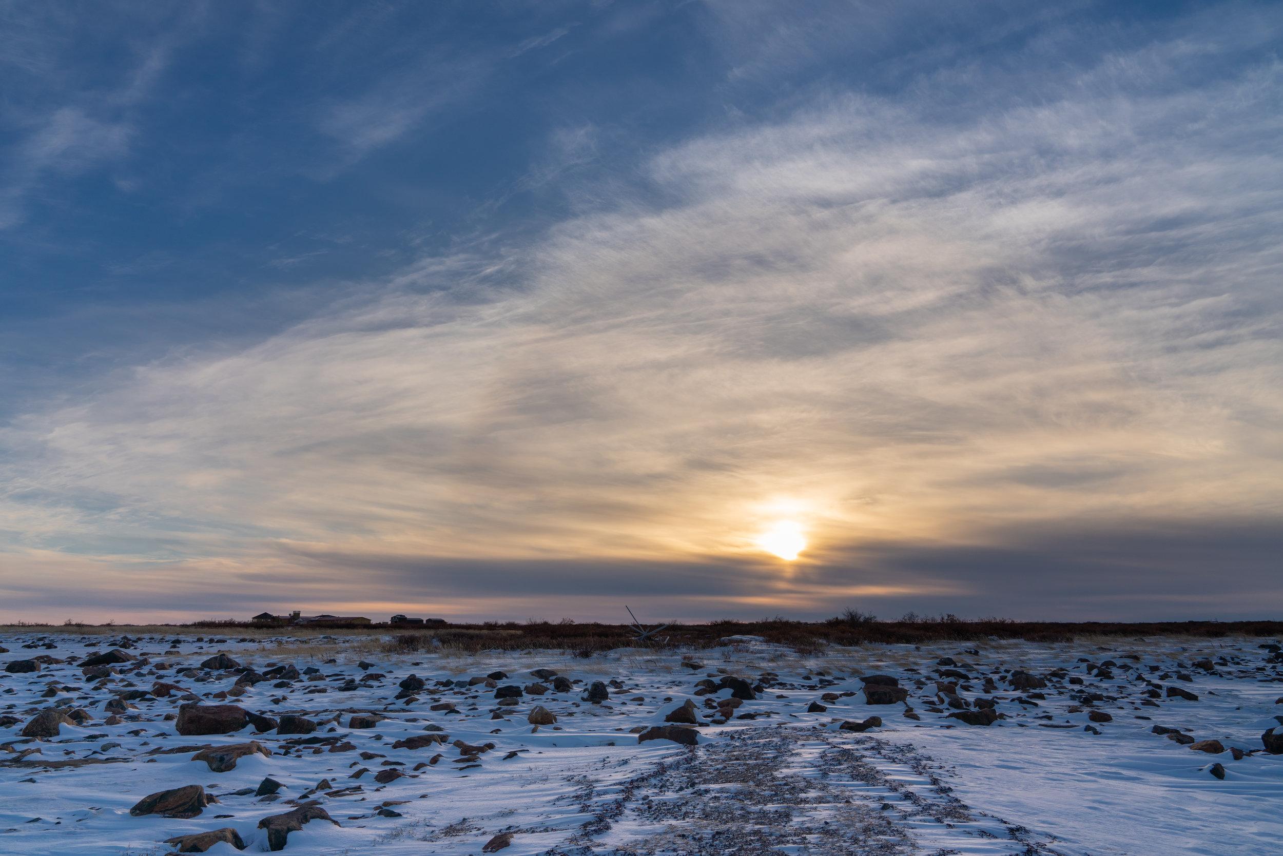 Sunset @ Seal River