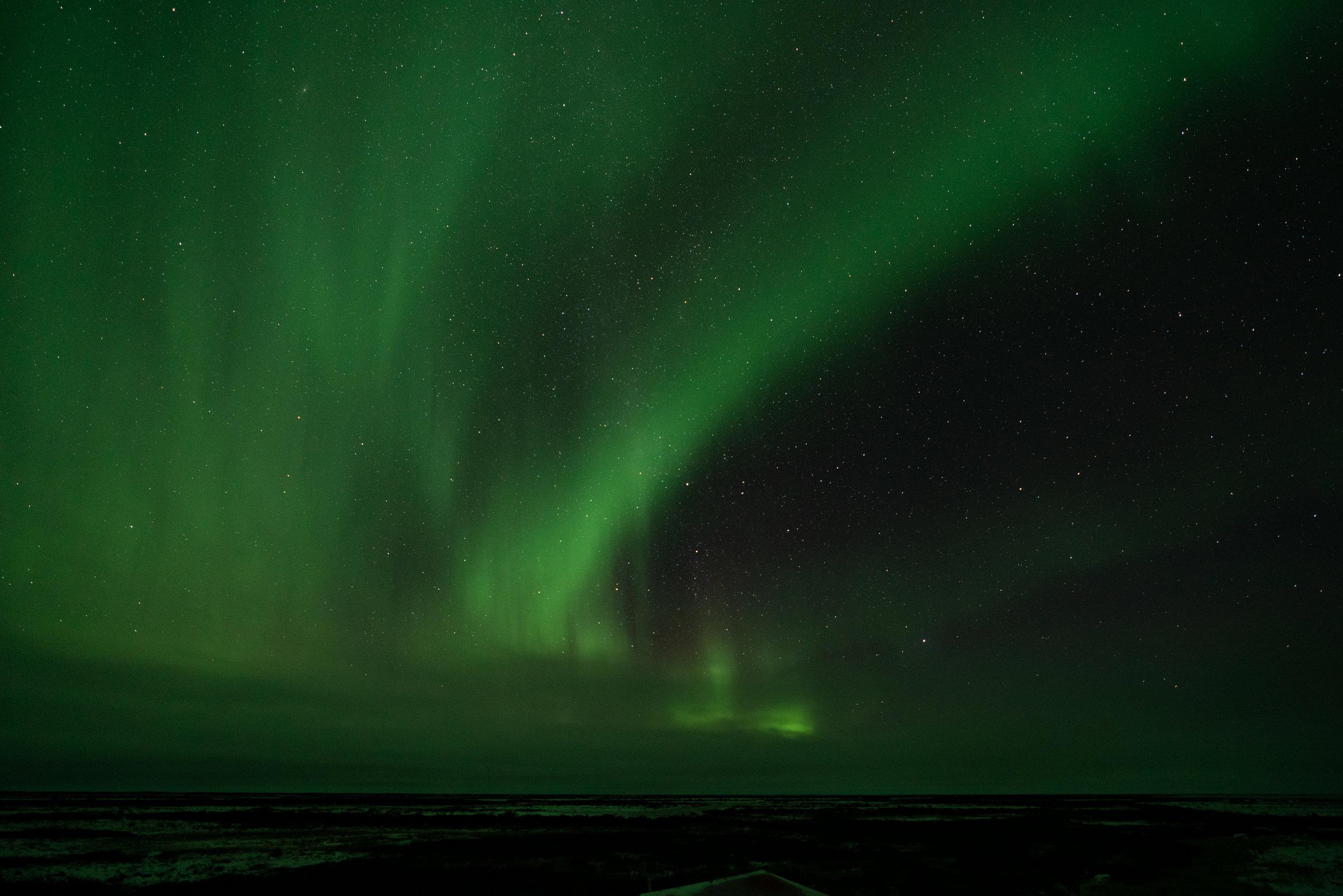 Aurora Over Hudson Bay