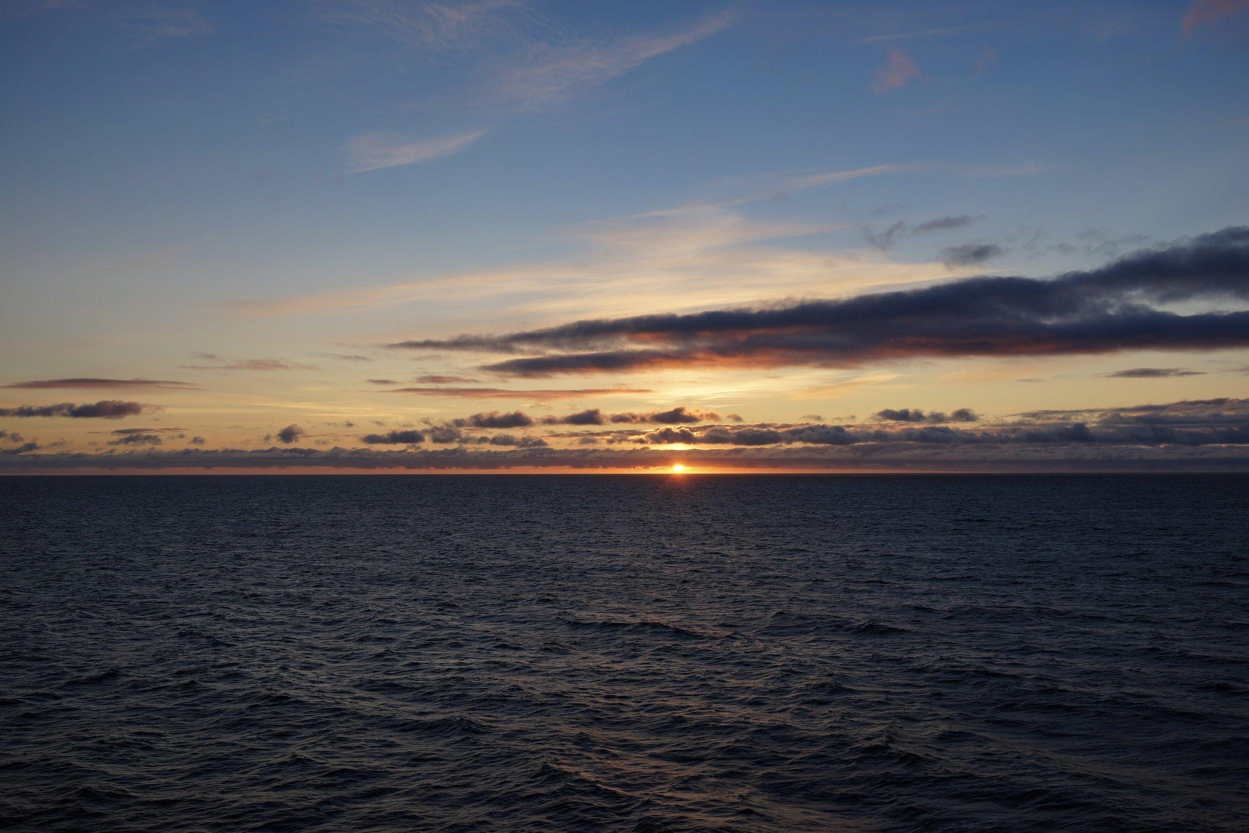 Sunset At Port Side