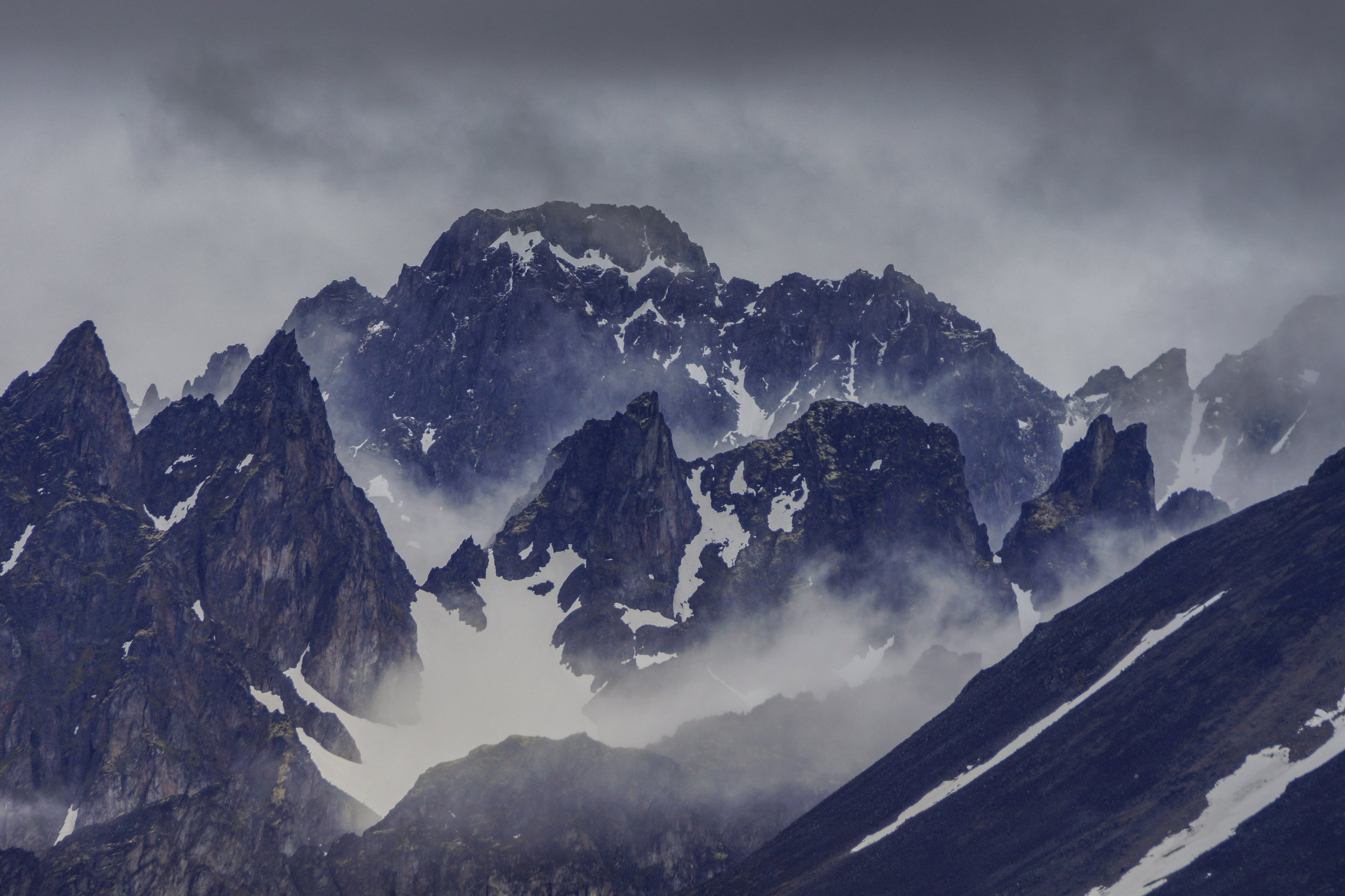 Spitzbergen - Pointed Mountains