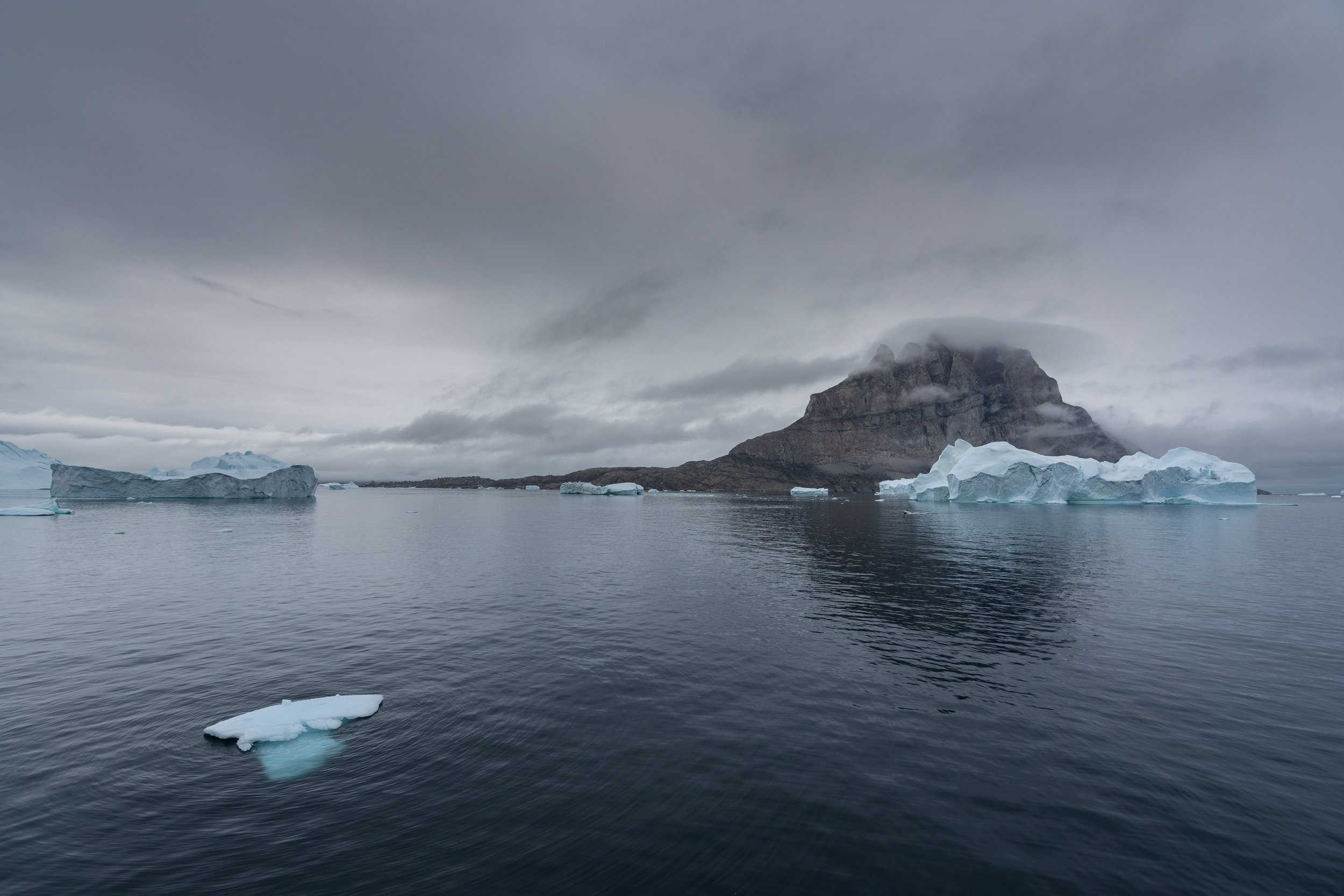 Surrounded By Icebergs