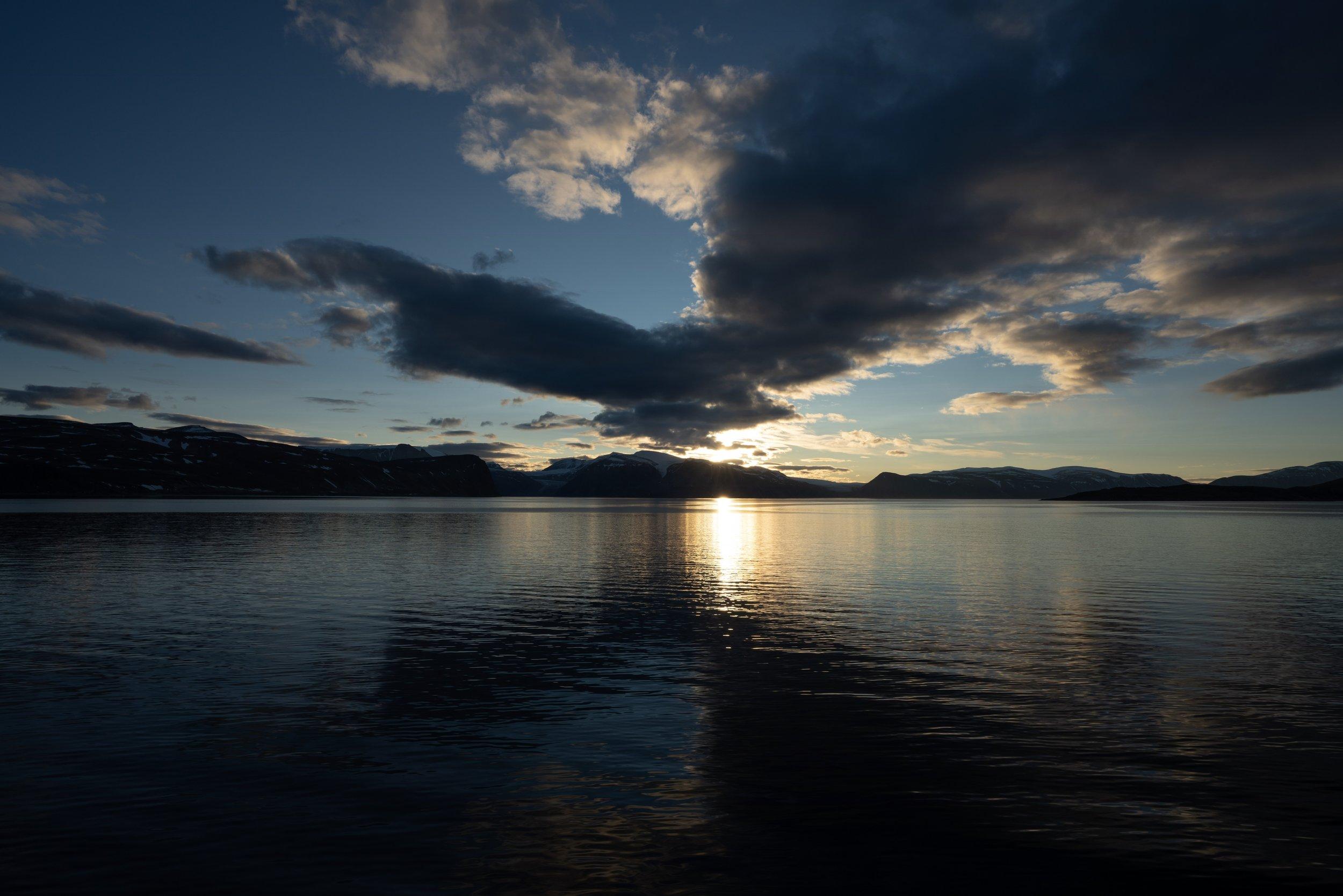 Sunset @ Baffin Island