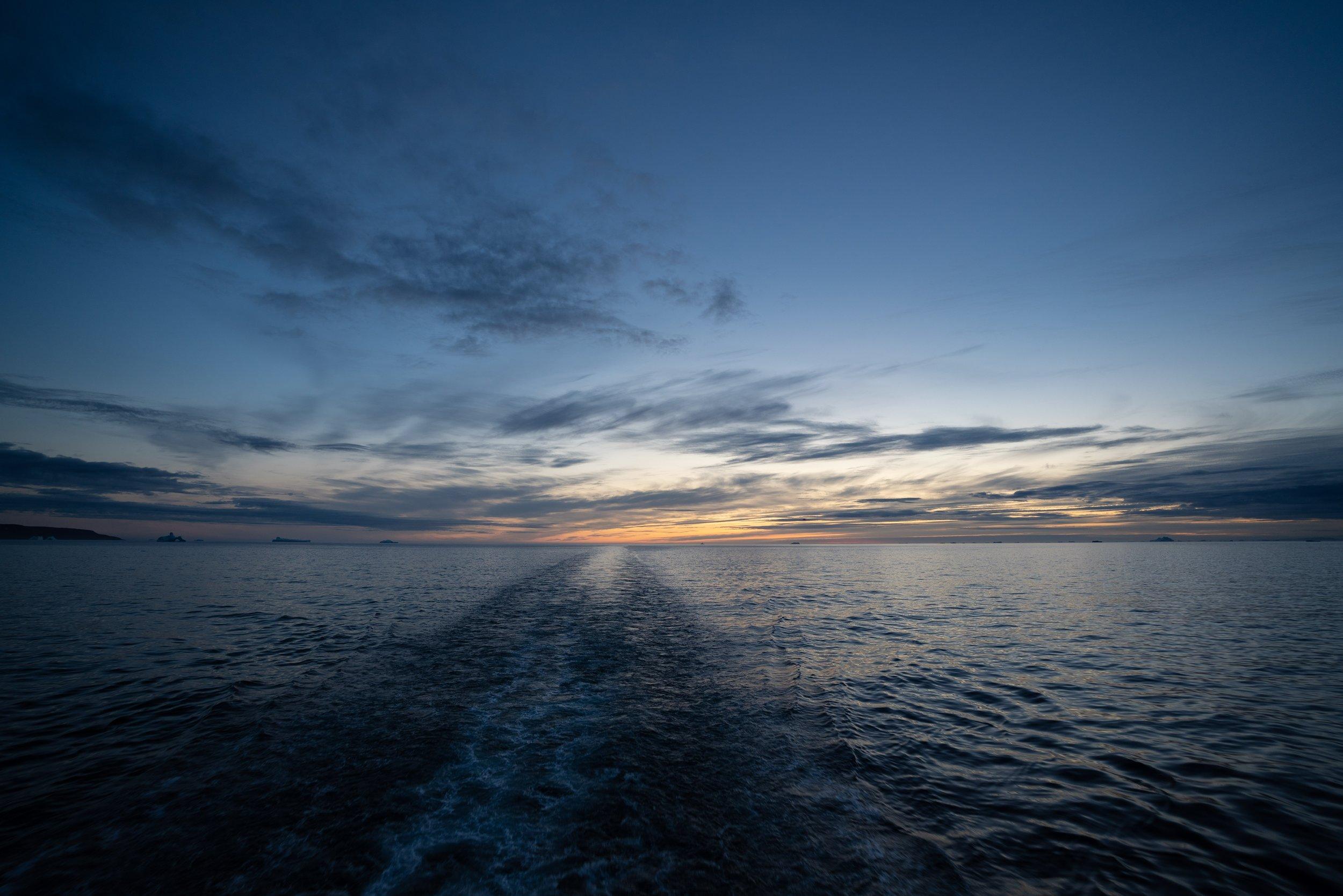 Sunset @ Baffin Bay