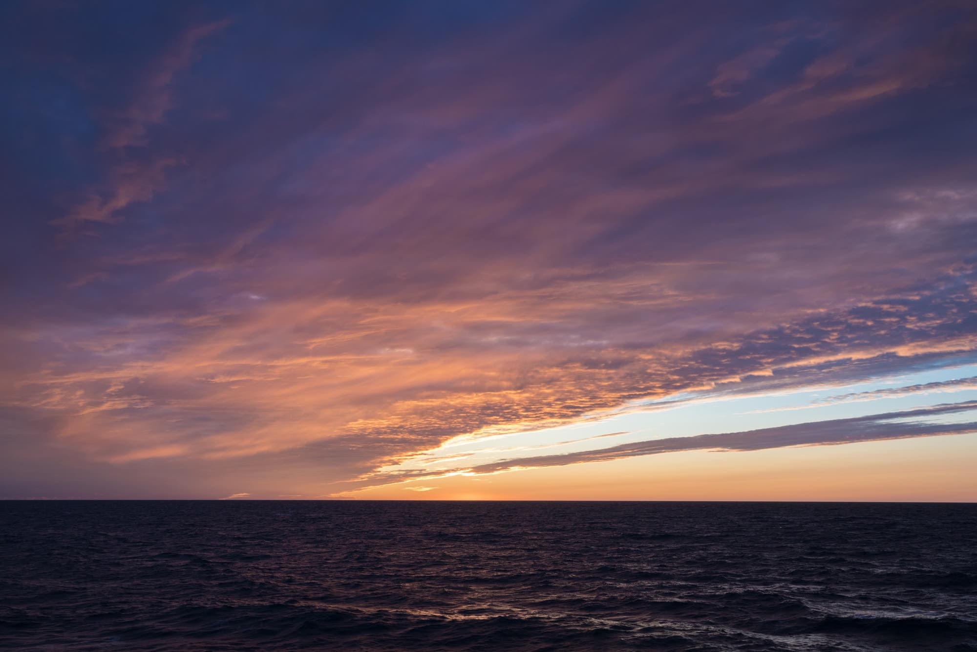 Northwest Passage Sunset