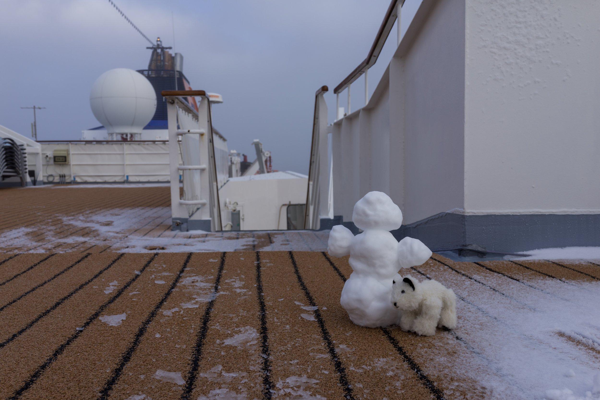 85°40'N   136°4'E ● MV Hanseatic   Arctic Sea