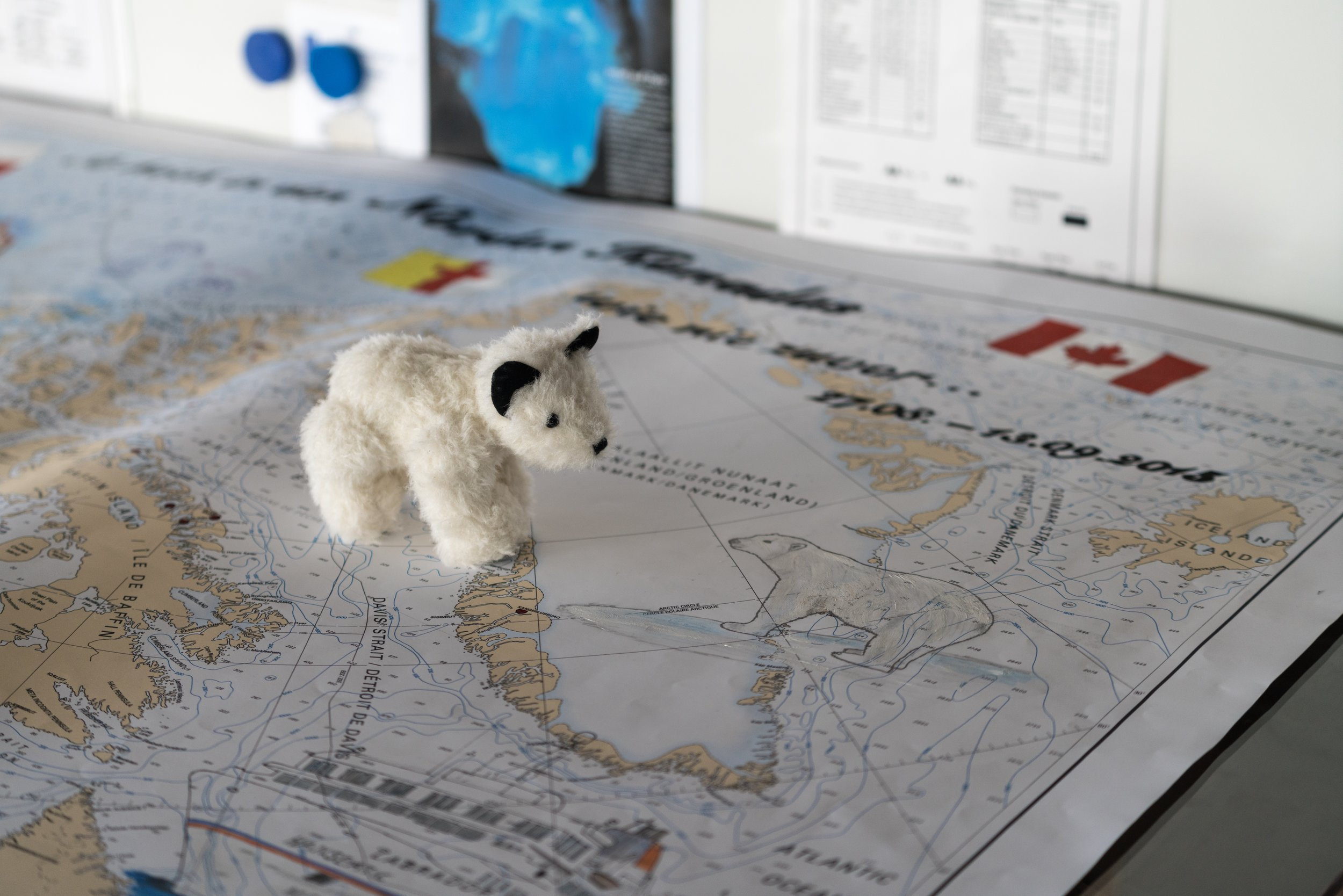79°59'N   85°54'W ● MV Hanseatic   Ellesmere Island   Canada