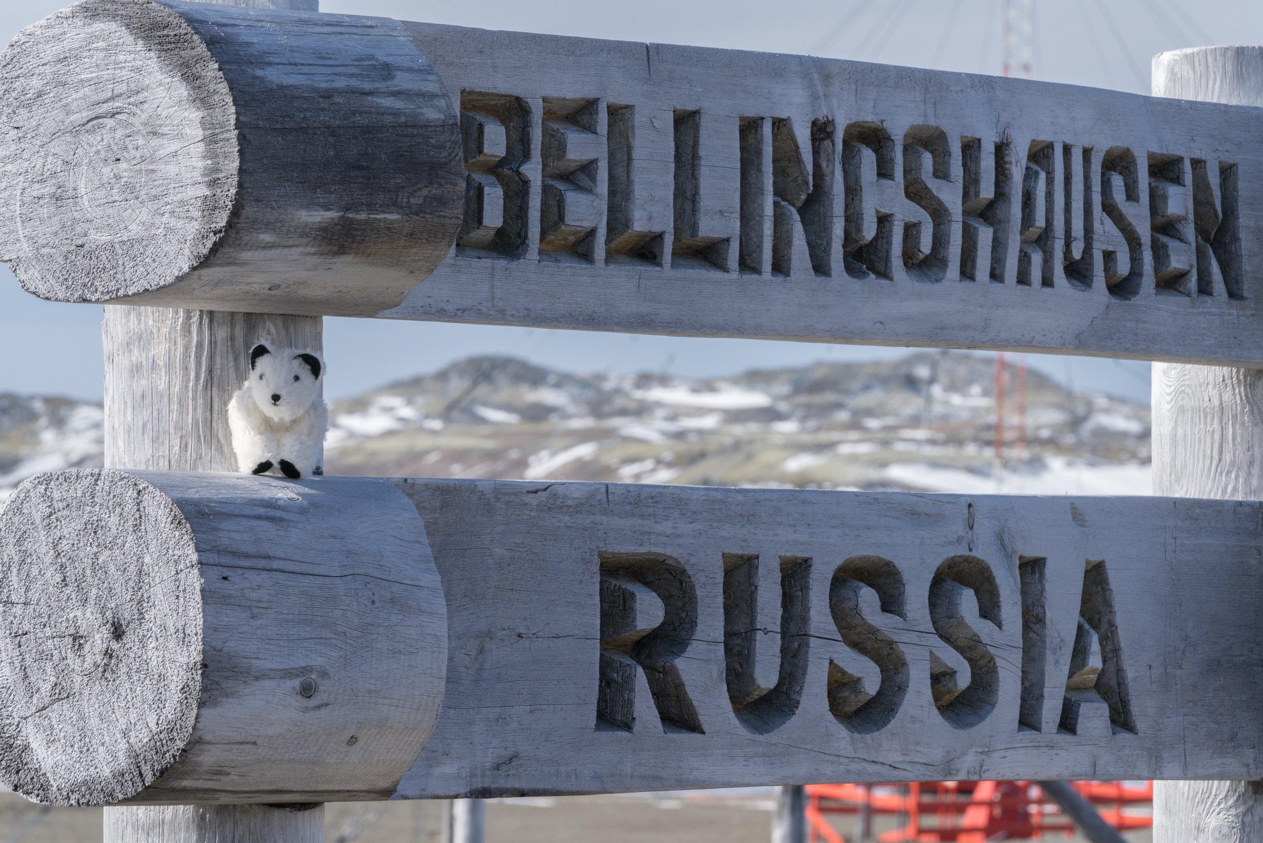 62°12'S   58°56'W ● King George Island   Chile   Russia   Antarctica :-)