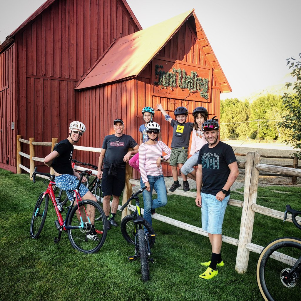 The first part of the crew reaching Ketchum. Good to be back in this beautiful town.
