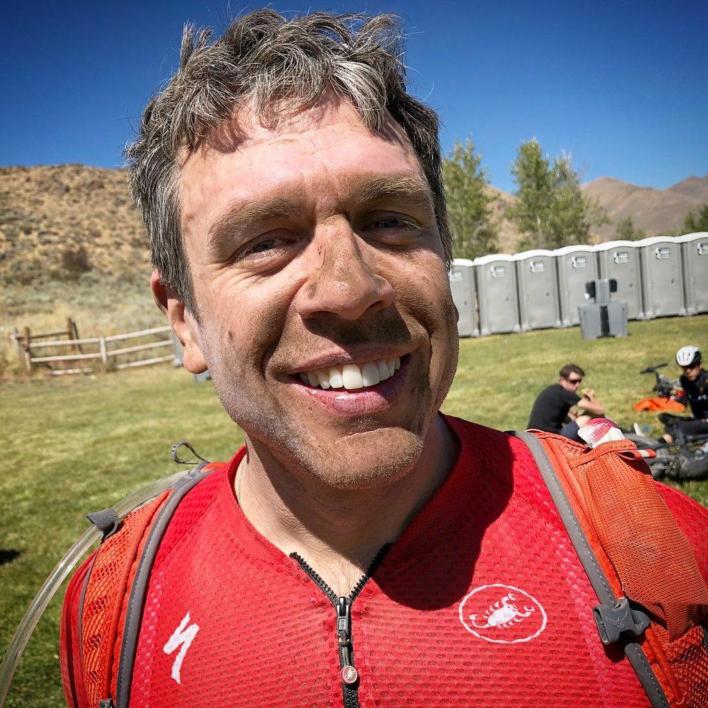 Pete looking dusty