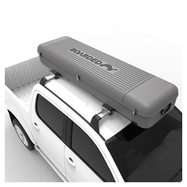 Oh wait, WHAT!!! It's not just a surf case for air travel? We've made this case for road trips too!  COMING SOON . . . #boardedprotection #surf #surfcase #travel #roadtrip #roofrack #hilux