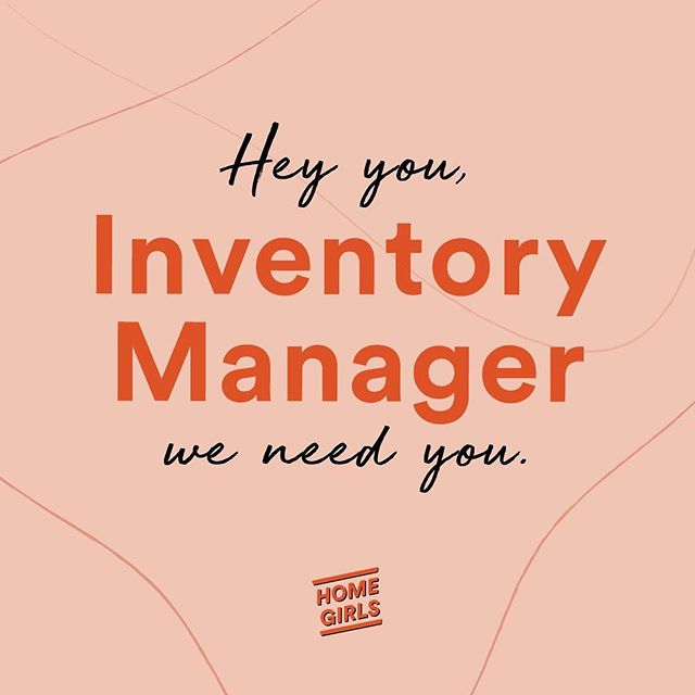 Homegirls is growing! We're seeking a gun inventory manager to help us out! For full position description, click the link in bio and email hello@homegirls.club with your CV.