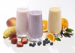 Protein Smoothies - Mango, Strawberry Banana