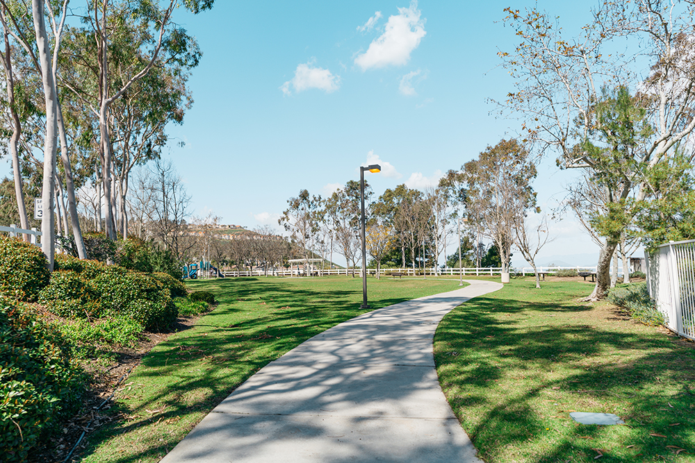 The Largest Park In Lake Hills Is Mid-Way up the mountain