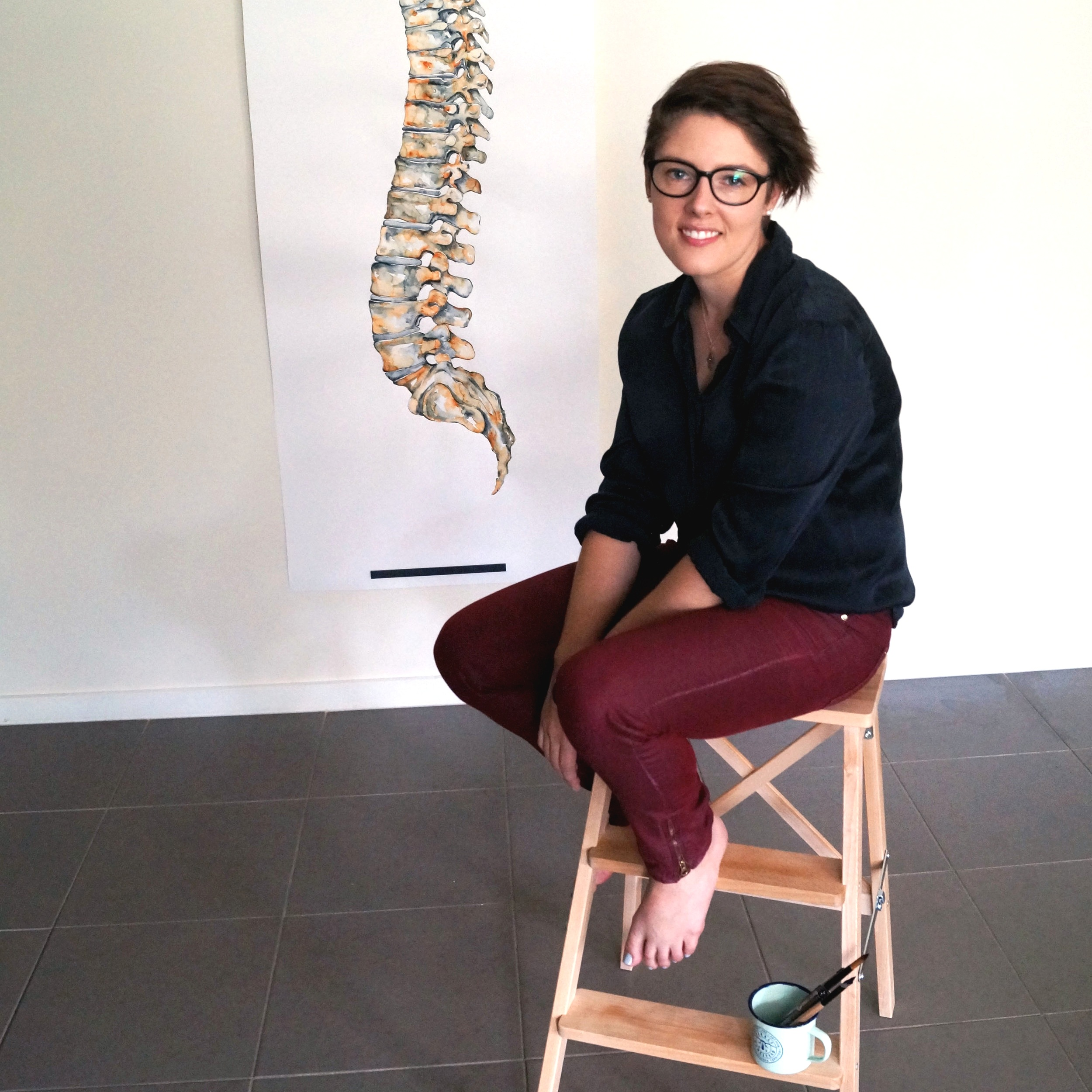 Meet Lauren Squires - Doctor. Artist. Trailblazer.