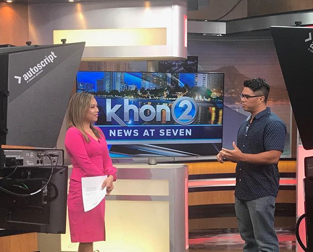 Our director @MitchelV recently appeared on @KHON2News to speak about tonight's screening of 'Alien,' presented by @OhinaShowcase and @ConsolidatedHI for this month's #HanaHouPictureShow film at Ward 16!  Join us at the theater before the movie begins at 7 and 10 pm tonight to see the final cut of #KālewaTheFilm on the big screen! There's still time to reserve your tickets online at ohina.org!