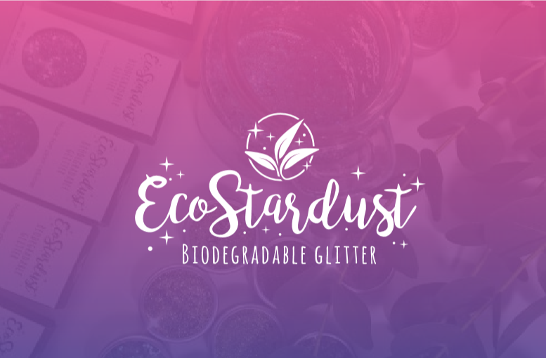 Ecostardust - Biodegradable Premium Grade Cosmetic Glitter for eco-conscious sparkly people. Wide range of colours & custom glitter blends.EcoStardust was launched in April 2017 and is an eco-conscious company selling biodegradable glitter made from a plant cellulose, derived predominantly from non-GMO sustain-ably farmed Eucalyptus Trees.Since then we have gone from strength to strength and have been heading out to UK festivals to spread the word about Eco-glitter and our company mission.MISSION AND VALUESOur mission is to promote joy and spread happiness through our vibrant and high quality products whilst raising awareness of environmental issues and giving back to the world. We balance people, product and planet to ensure we serve all three.Spread happiness and bring people togetherHigh quality, premium productsSustainable and environmentally friendlyVegan and cruelty freeAWARD WINNERSWe are honoured to have won the Blue Patch New Business Award: For new businesses creating products or providing services (under 2 years old). Blue Patch is dedicated to social and environmental good, supported by members and Patrons. A selective showcase for exceptional businesses, Blue Patch is also a collaborative members network. As a social enterprise* 100% of Blue Patch's surplus profit funds renewable energy, conservation and community projects.