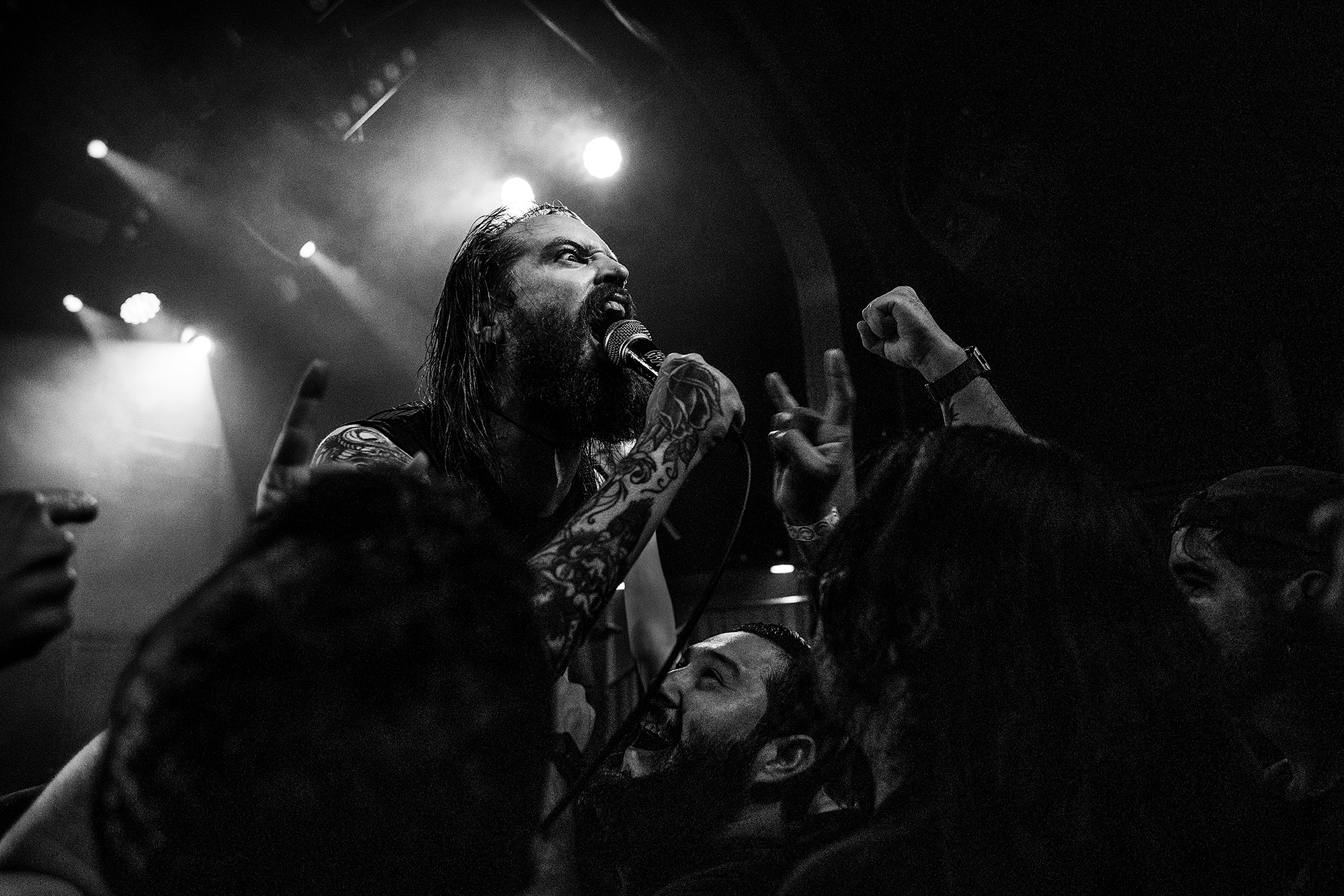 Skeletonwitch at Teragram Ballroom, Los Angeles, CA  2019.05.22