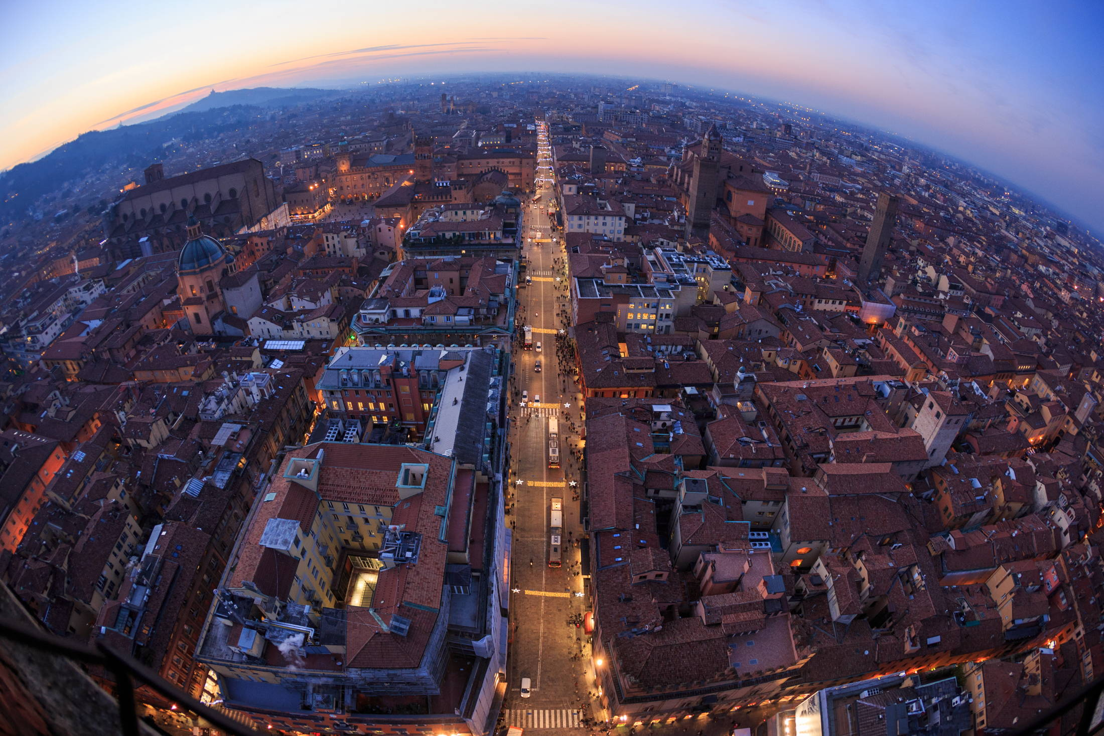 Christmas Atmosphere in Bologna