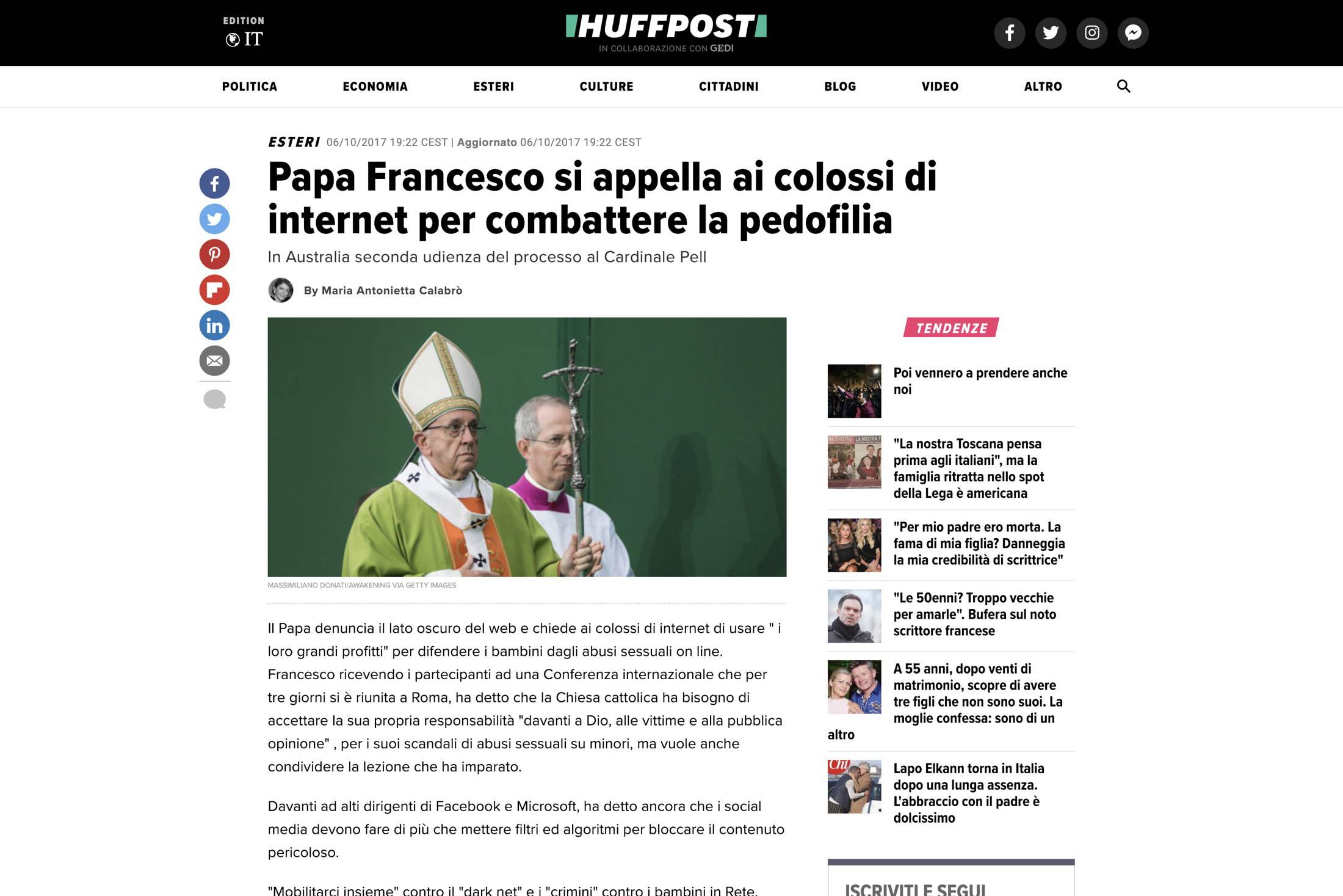 Huffingtonpost Italy