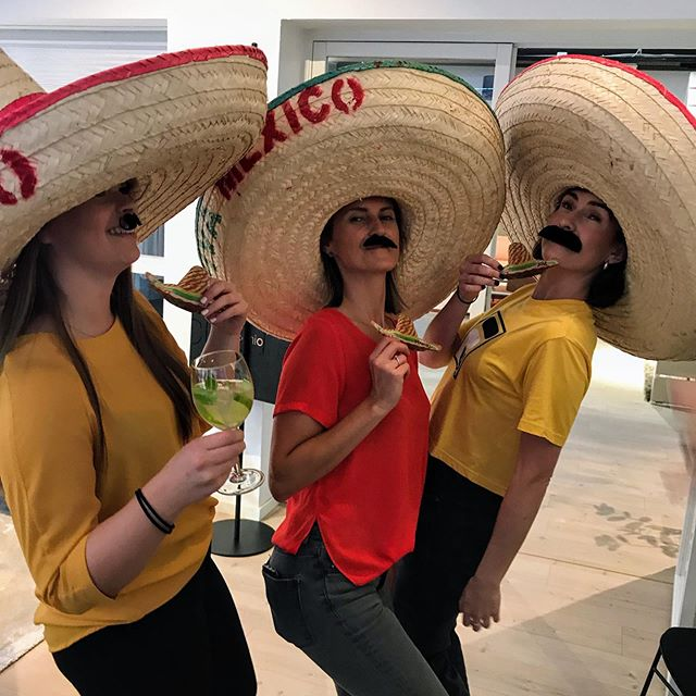 Mexicansk sensommerfest på jobben 🕺🏻💃😅 #meksikansk #taco #nachos #jobb#fest #party