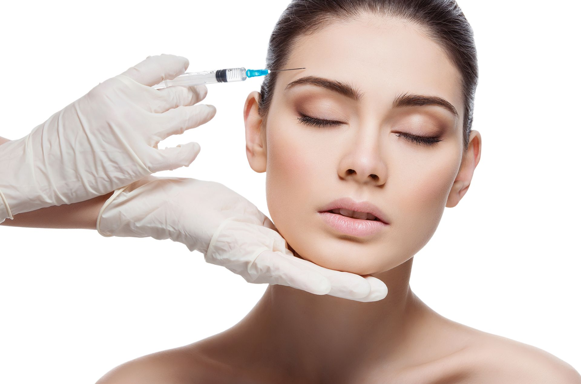 Botox - -Forehead lines-Smile lines-Jawline sculpting