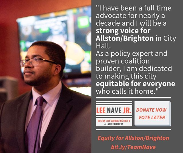 Donate now, vote later! Activists support activists. And I need 100 activists to donate $20 by Friday to hit my week's goal of $2,000! #bospoli #mapoli bit.ly/TeamNave