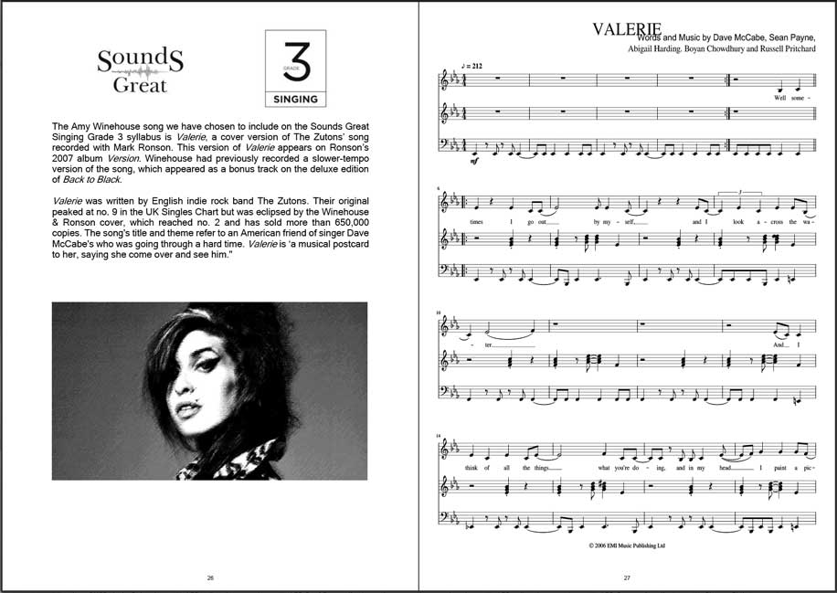 Sounds & Looks Great - Our Grade Books not only include the sheet music which is to be studied but also background information on the composers and the artists who performed it. You'll also find some helpful practice tips and information about the 'tricky parts' of the pieces.